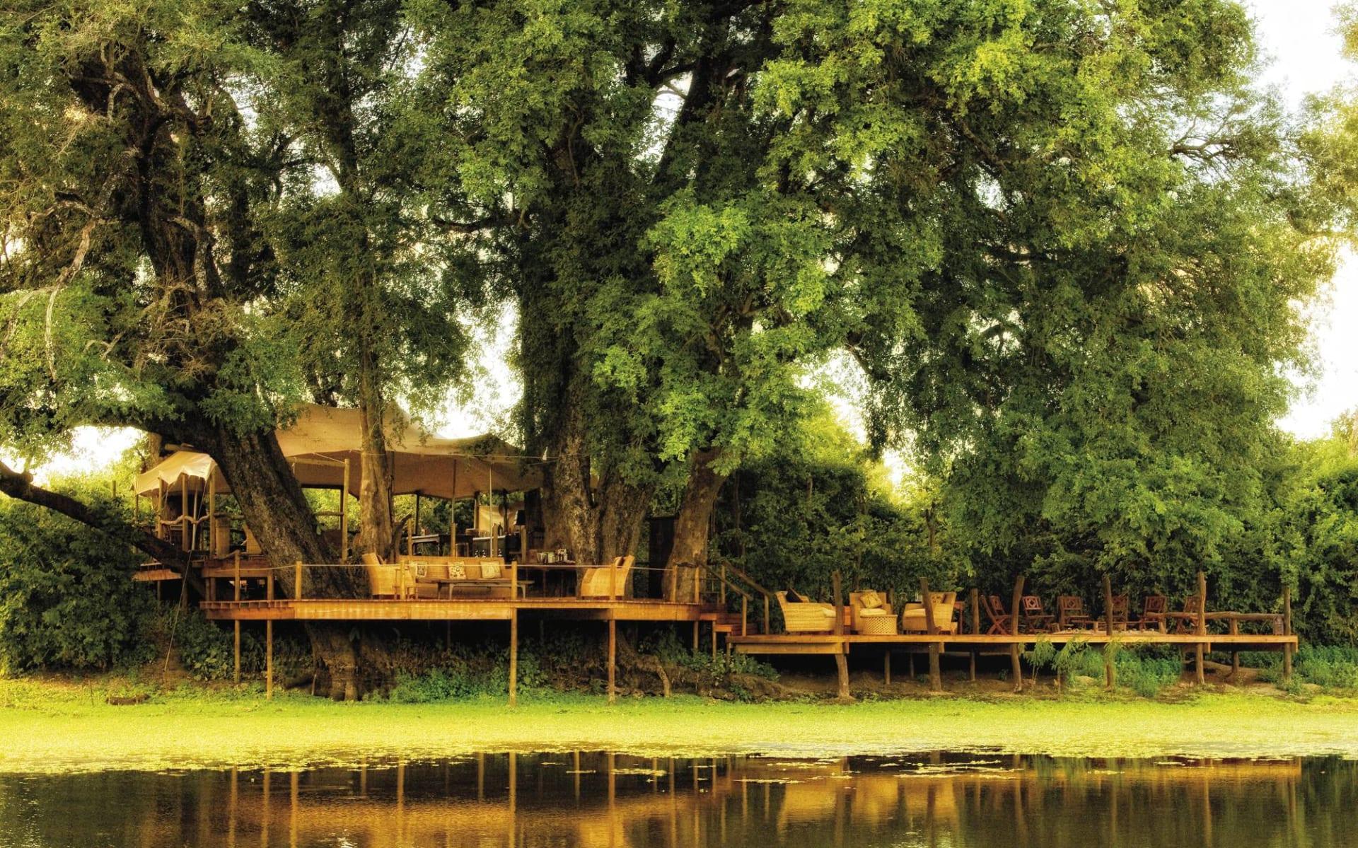 Kanga Camp in Mana Pools Nationalpark: Kanga Camp