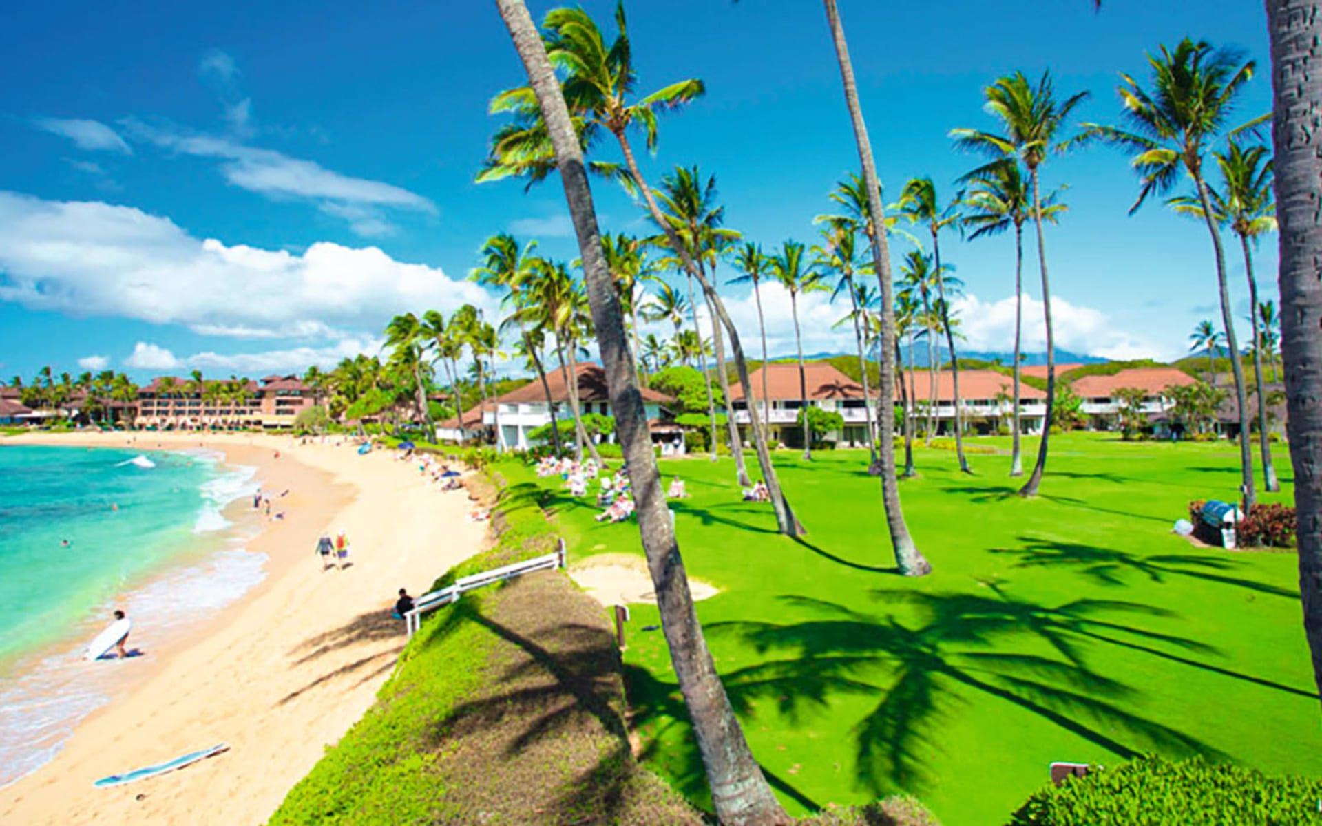 Castle Kiahuna Plantation in Poipu - Kauai: Exterior_Kiahuna_Plantation_Poipu-Beach_web