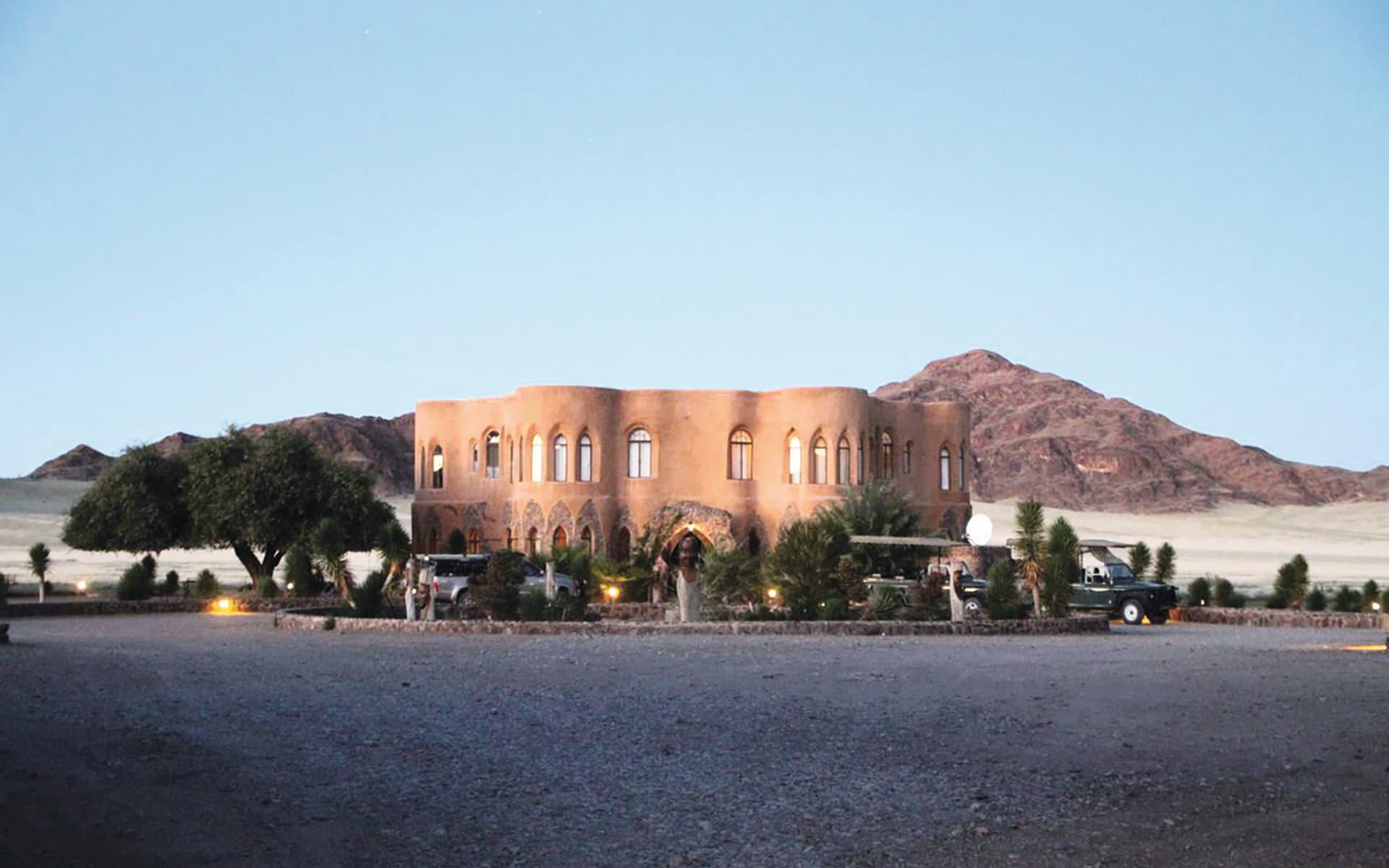 Le Mirage Resort & Spa in Sesriem: Exterior Le Mirage Desert Lodge & Spa Aussenansicht