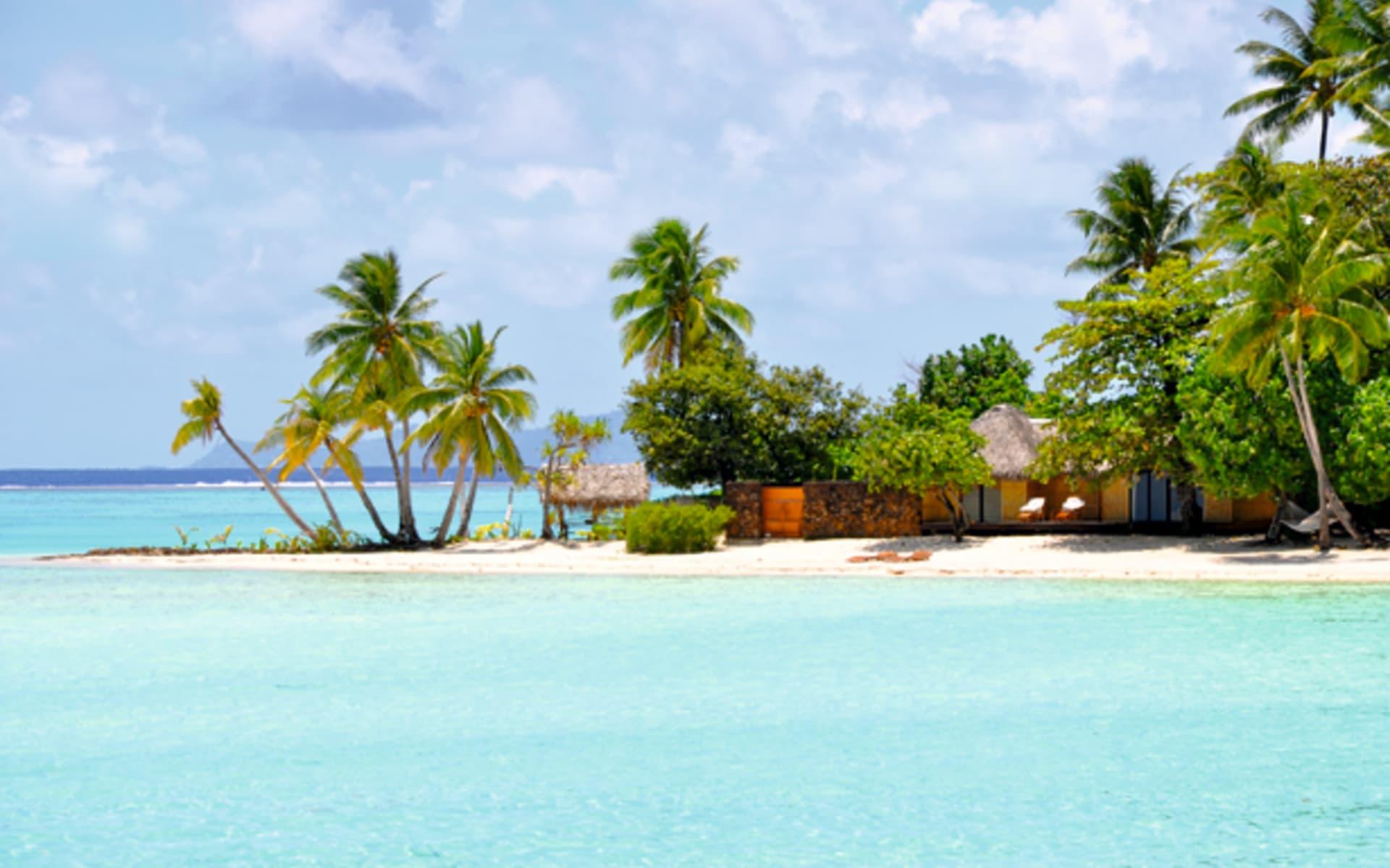 Le Taha'a Private Island & Spa:  Le Taha'a Private Island & Spa  - Beach Villa