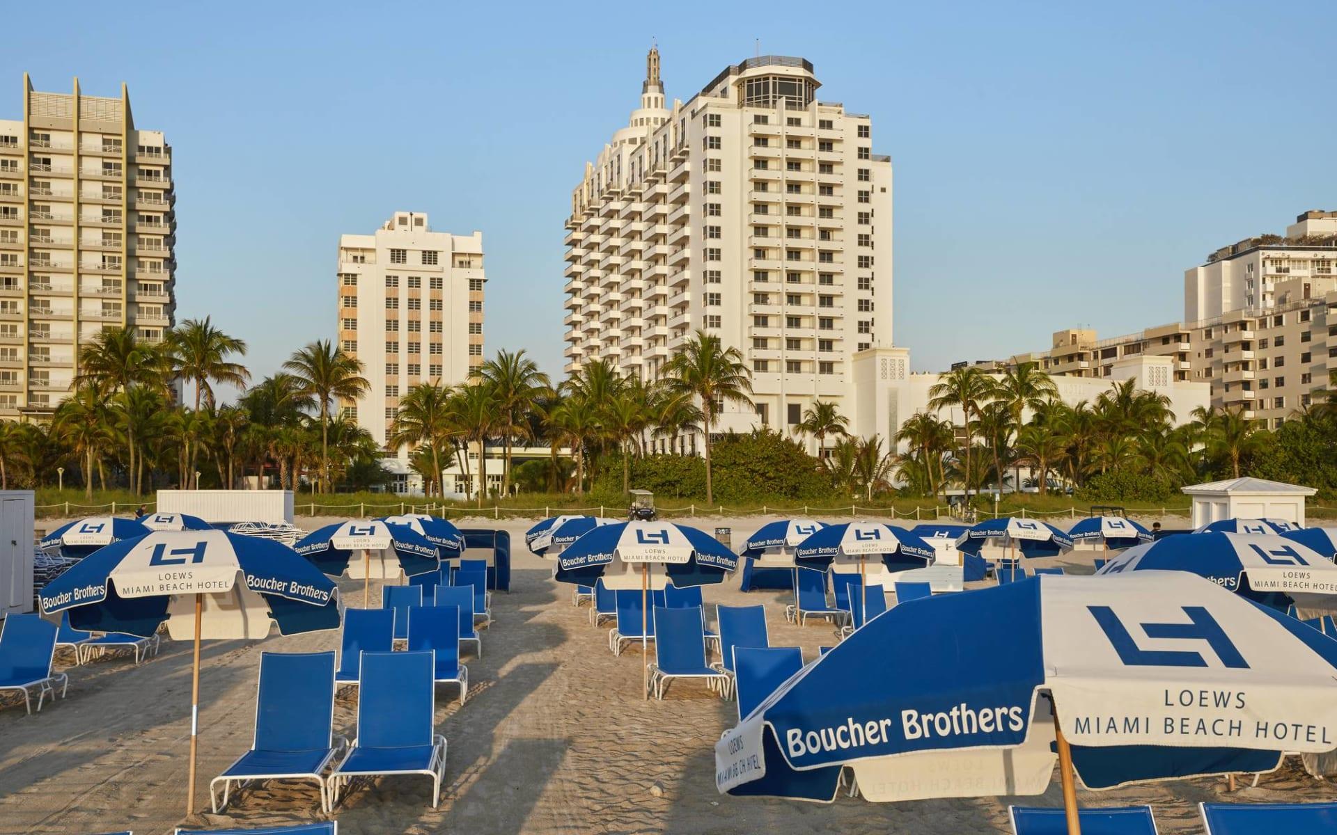 Loews Miami Beach:  Loews Miami Beach - Aussenansicht
