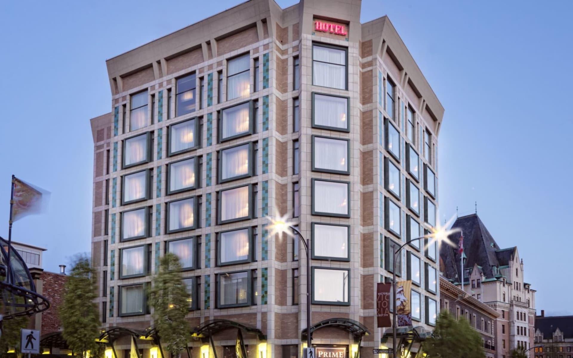 Magnolia Hotel & Spa in Victoria: Magnolia Hotel & Spa_FrontView