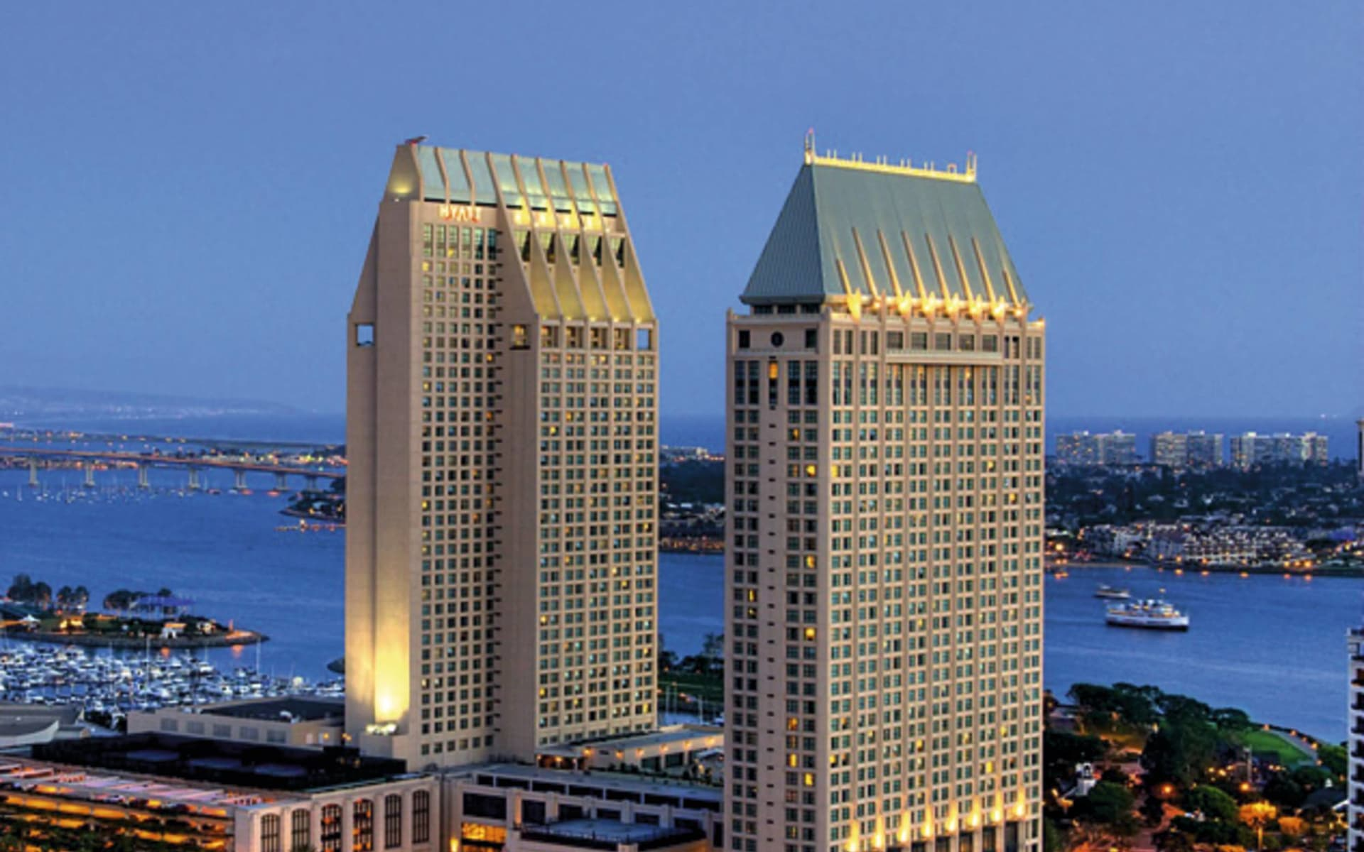 Manchester Grand Hyatt San Diego: exterior manchester grand hyatt san diego hotelansicht
