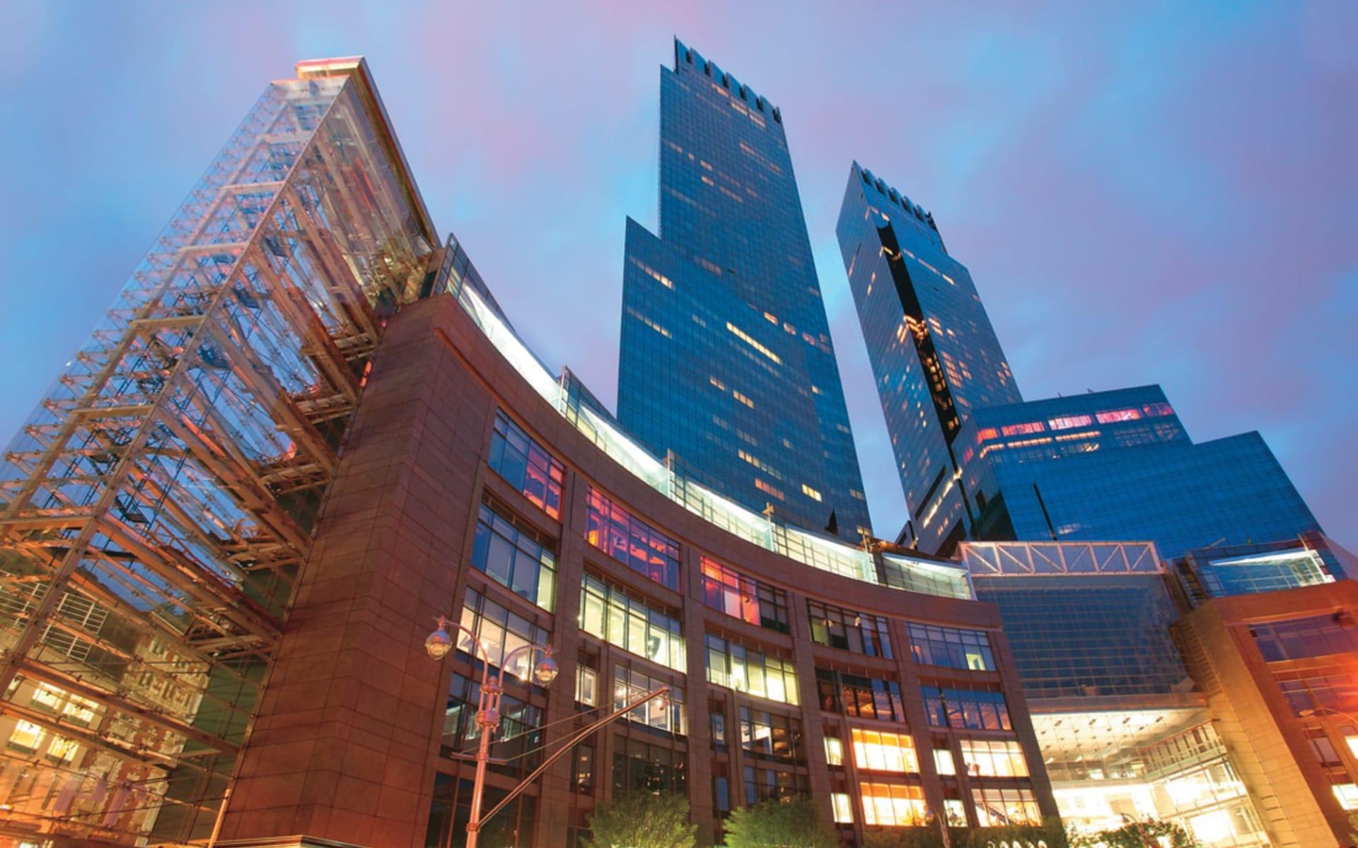 Mandarin Oriental New York in New York - Manhattan:  Mandarin Oriental - Fassaden