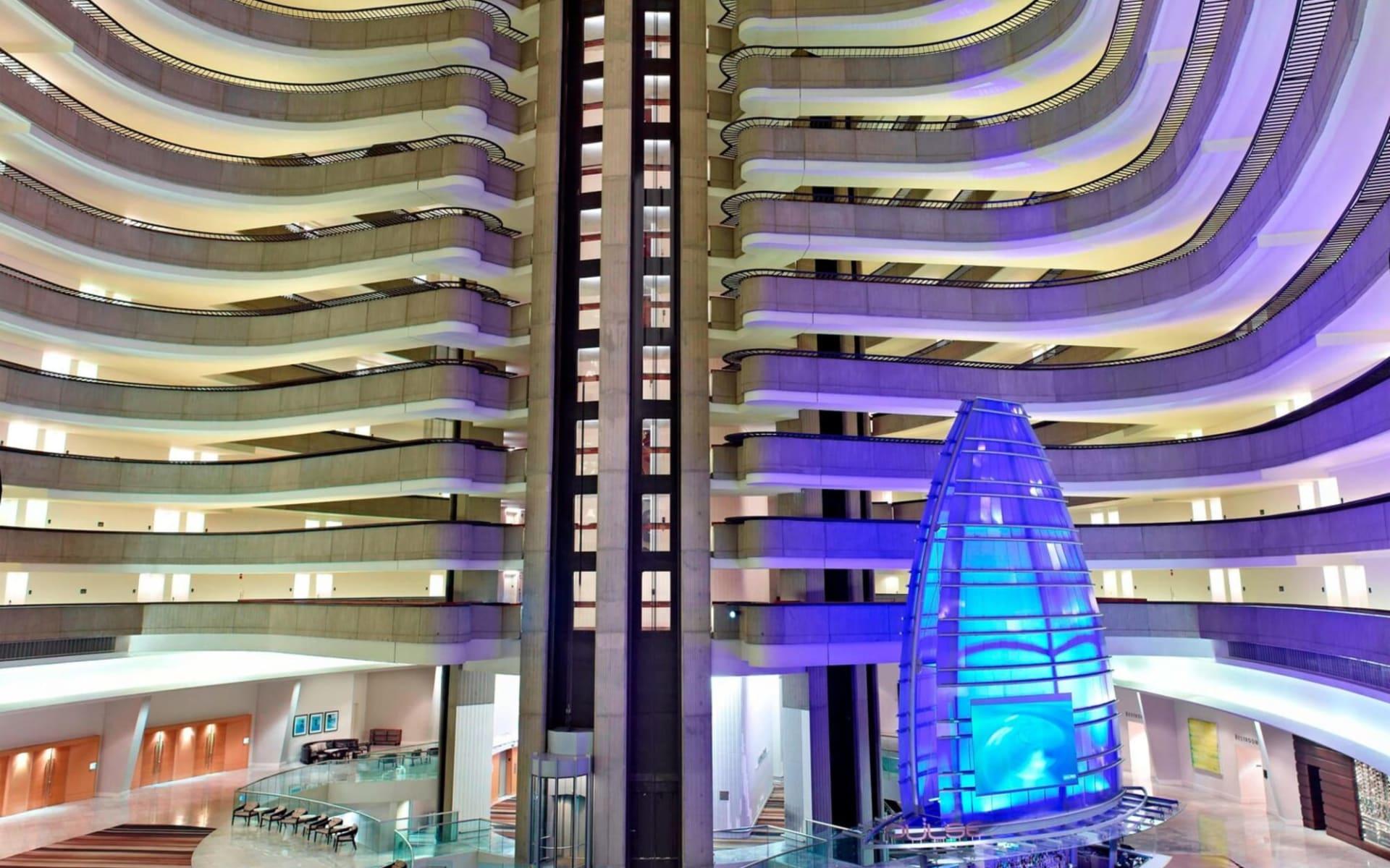 Marriott Marquis in Atlanta:  Marriott Marquis Atlanta - Atrium