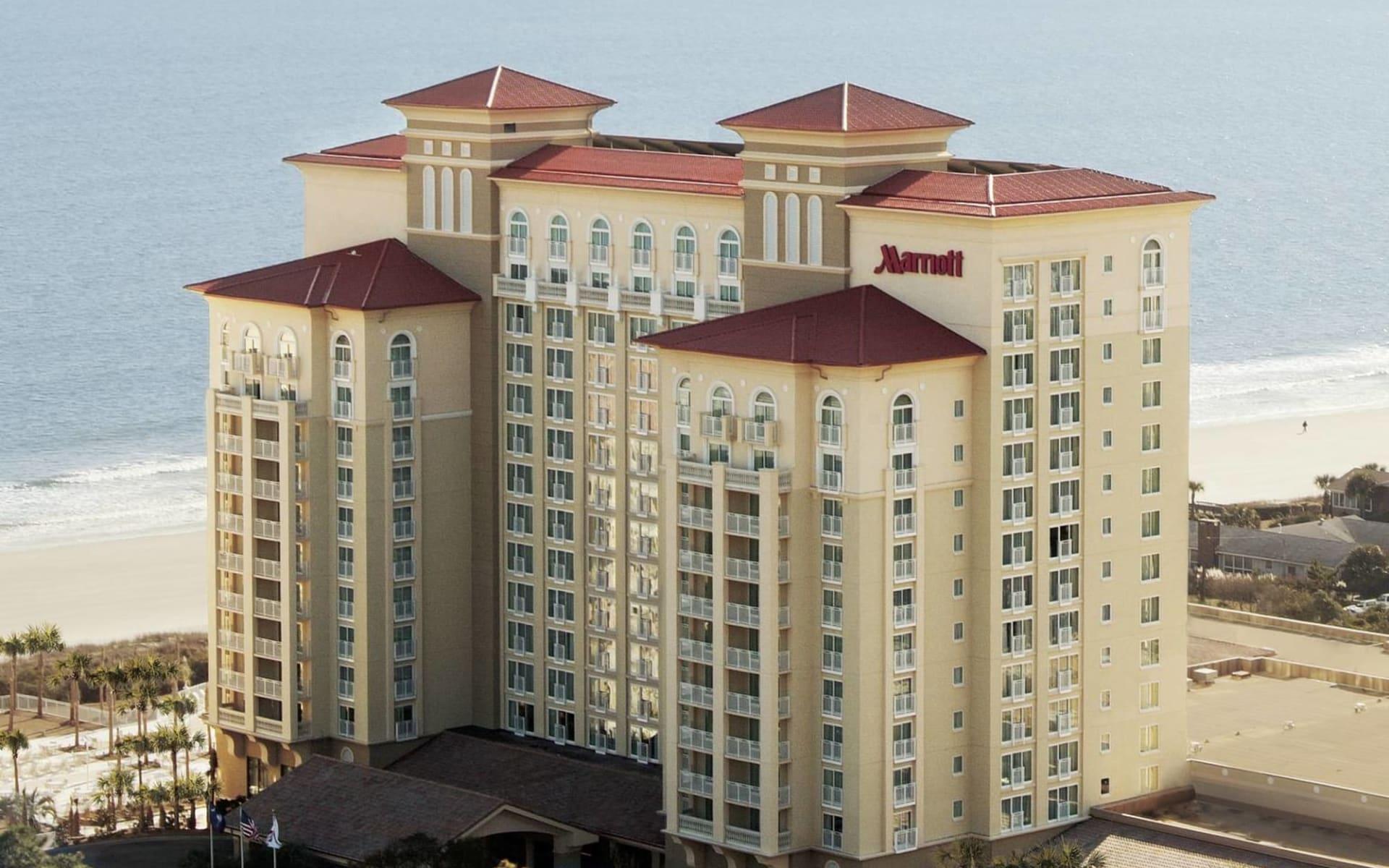 Marriott Resort & Spa at Grande Dunes in Myrtle Beach: Marriott Resort & Spa at Grande Dunes - Aussenansicht