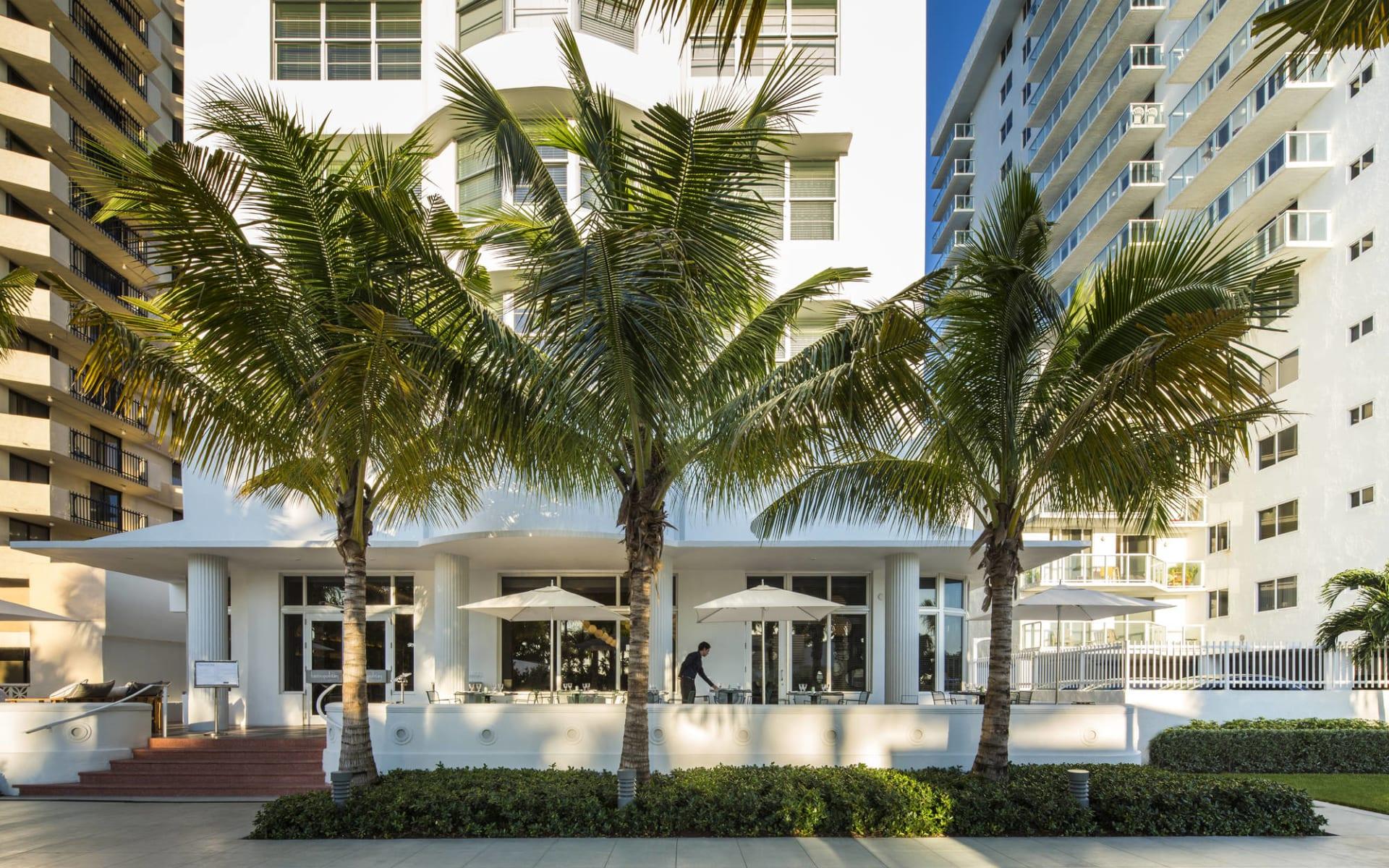Metropolitan by COMO Miami Beach:  Metropolitan by Como - Traymore Restaurant Terrace