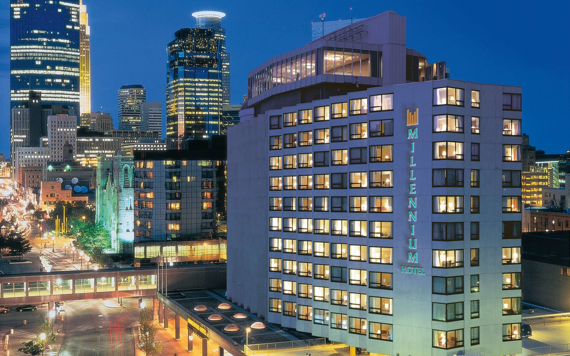 Millenium Hotel in Minneapolis:  Millennium Hotel - Aussenansicht
