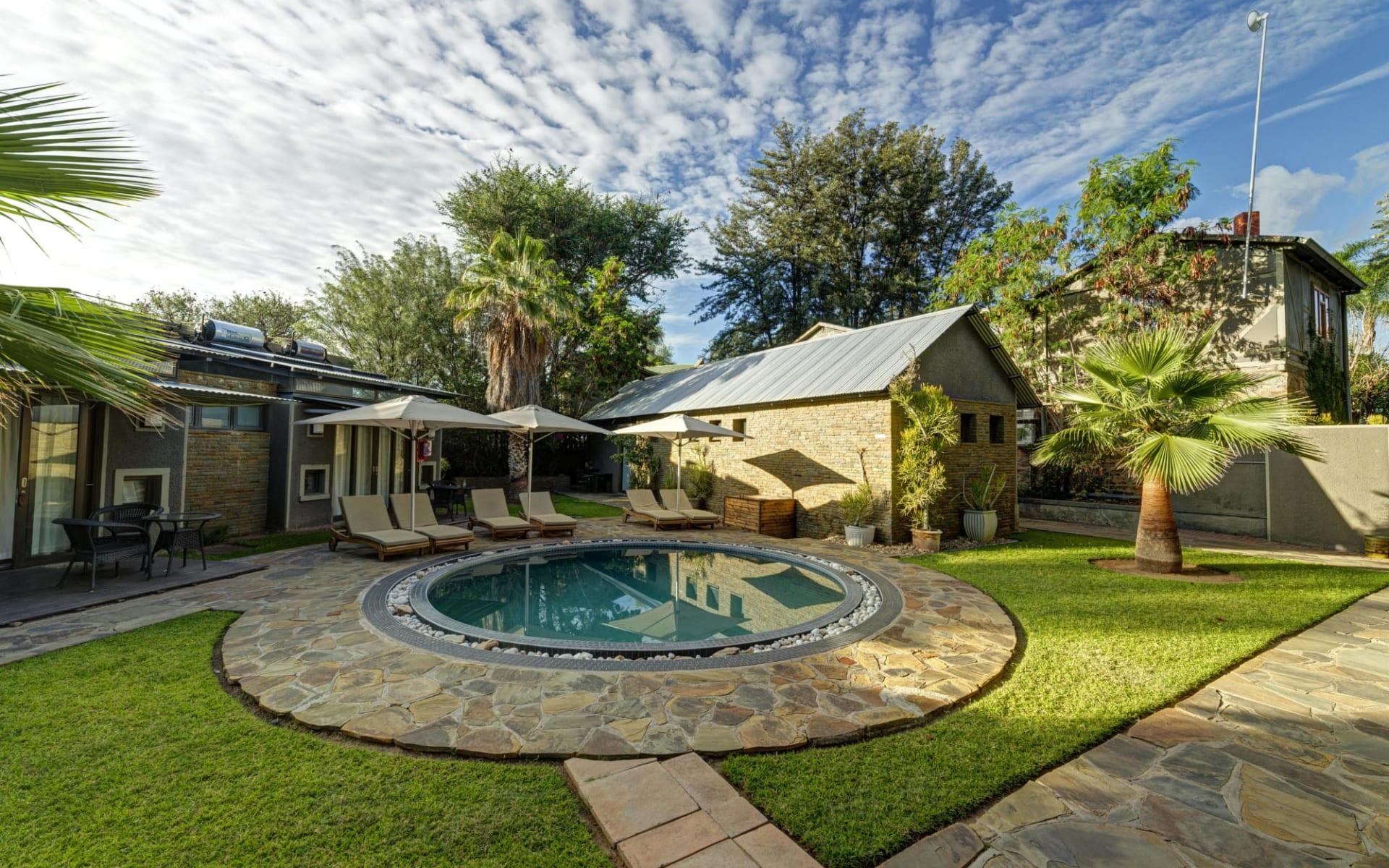 Naankuse Lodge in Windhoek Stadt:  N a ankus Utopia
