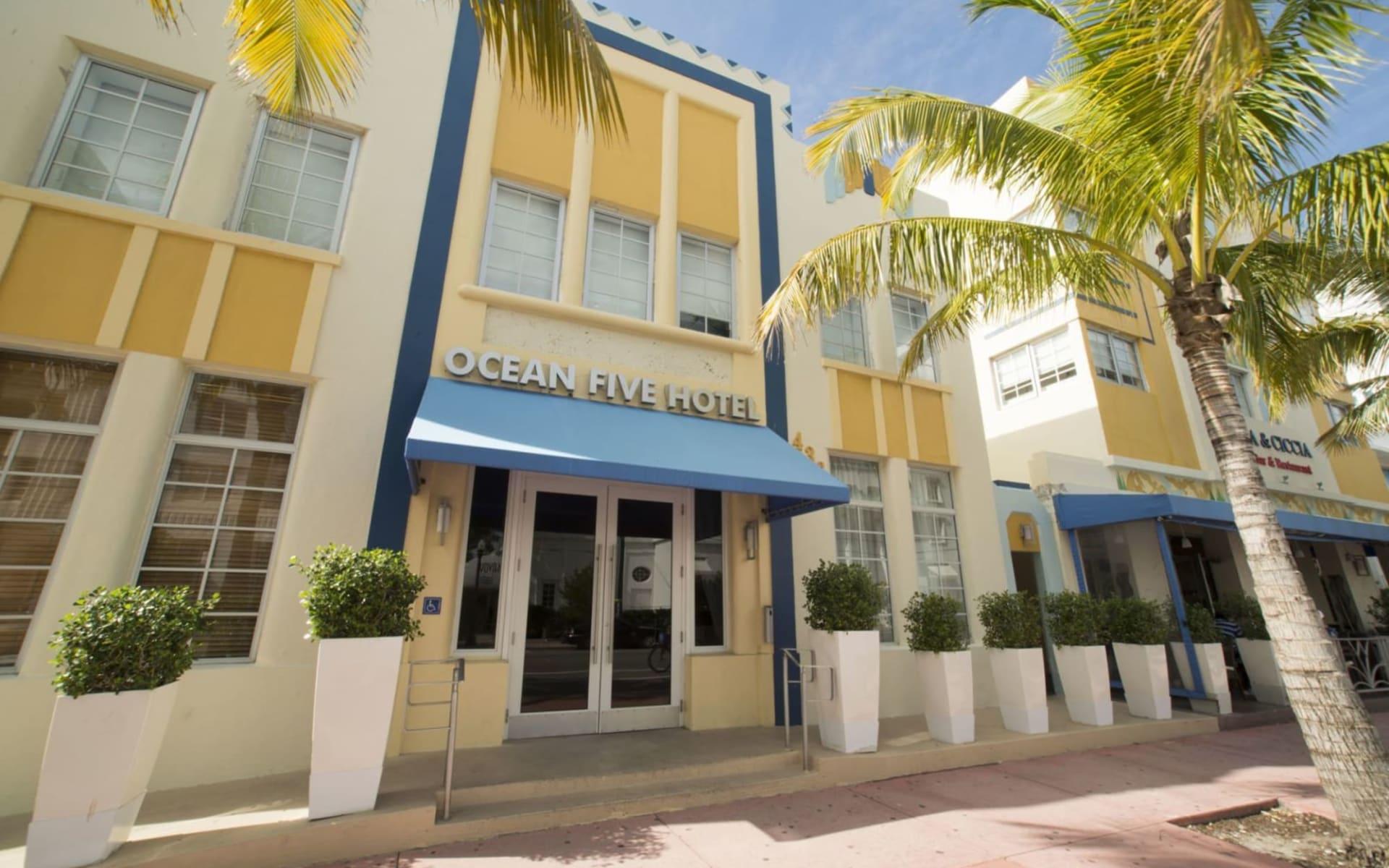 Ocean Five Hotel in Miami Beach:  Ocean Five - Aussenansicht