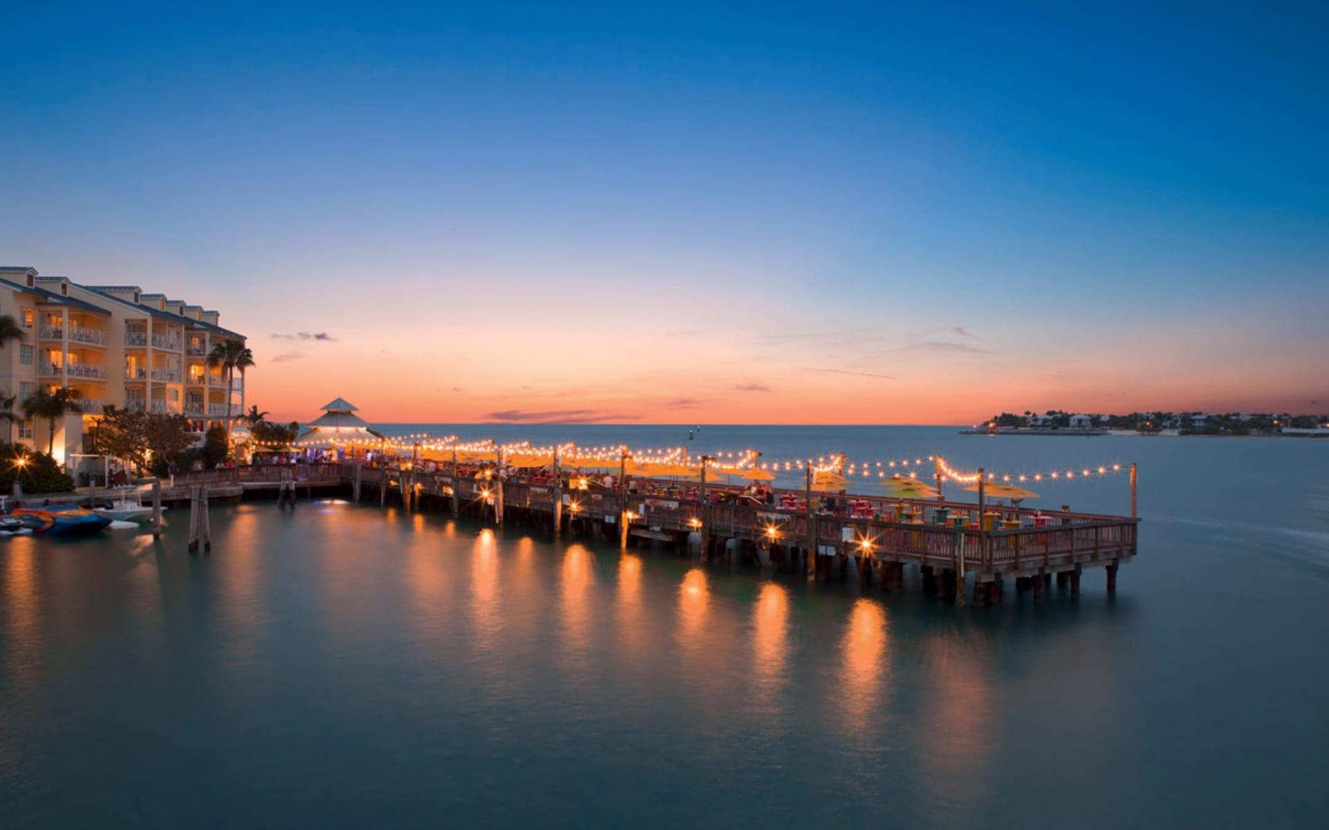 Ocean Key Resort & Spa in Key West: exterior ocean key resort spa key west steg meer