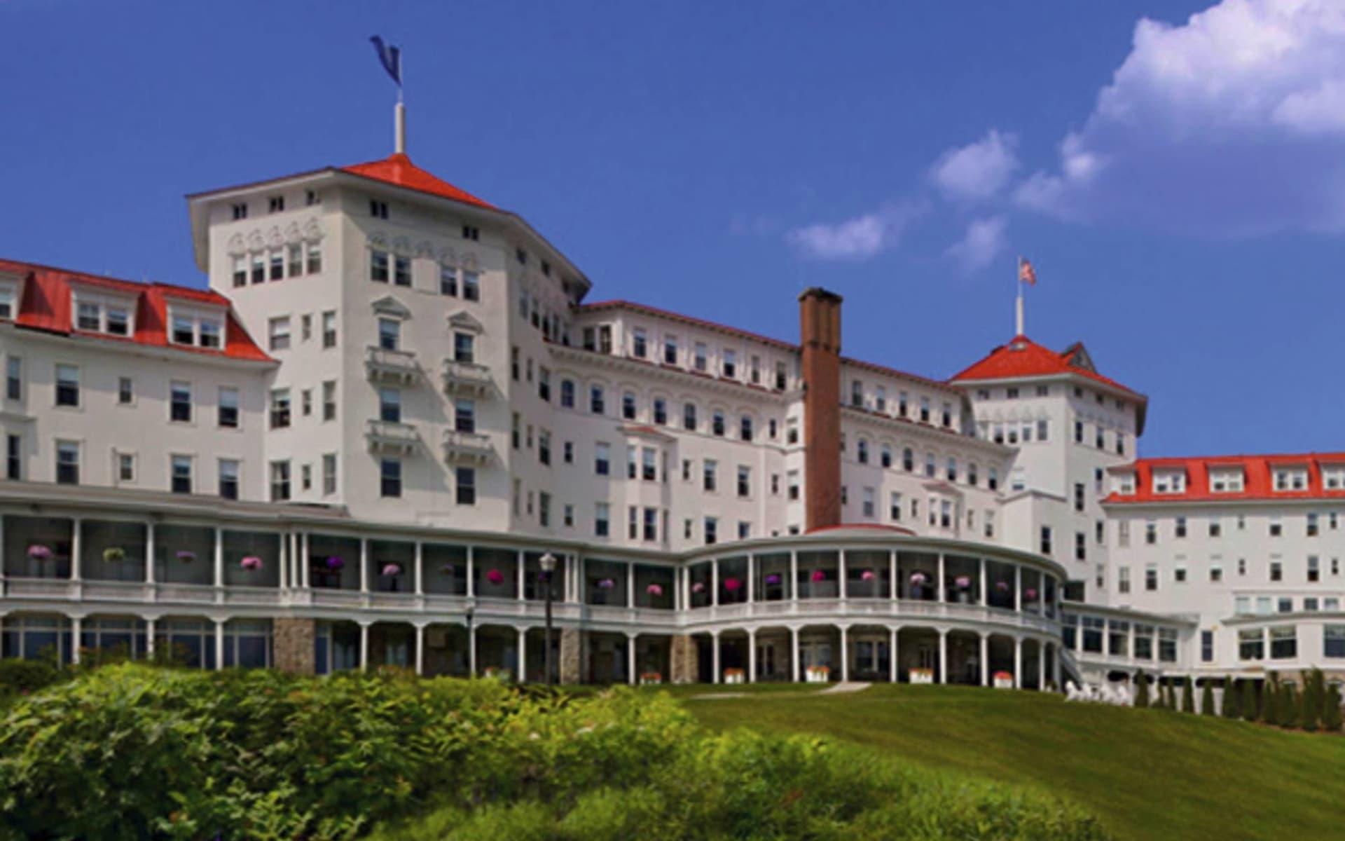 Omni Mount Washington Resort in Bretton Woods: exterior omni mount washington resort hotelansicht