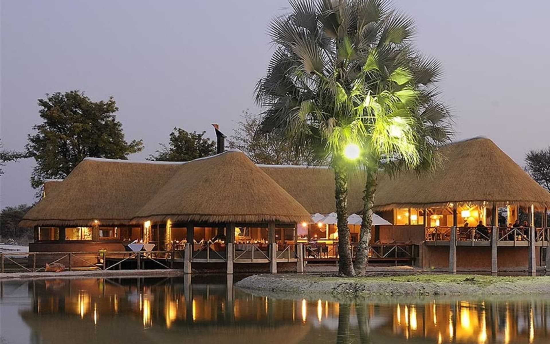 Onguma Bush Camp in Etosha Nationalpark:  Onguma Bush Camp