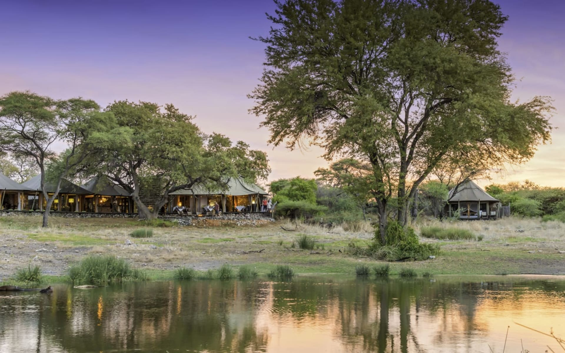 Onguma Tented Camp in Etosha Nationalpark: Onguma Tented Camp_0247