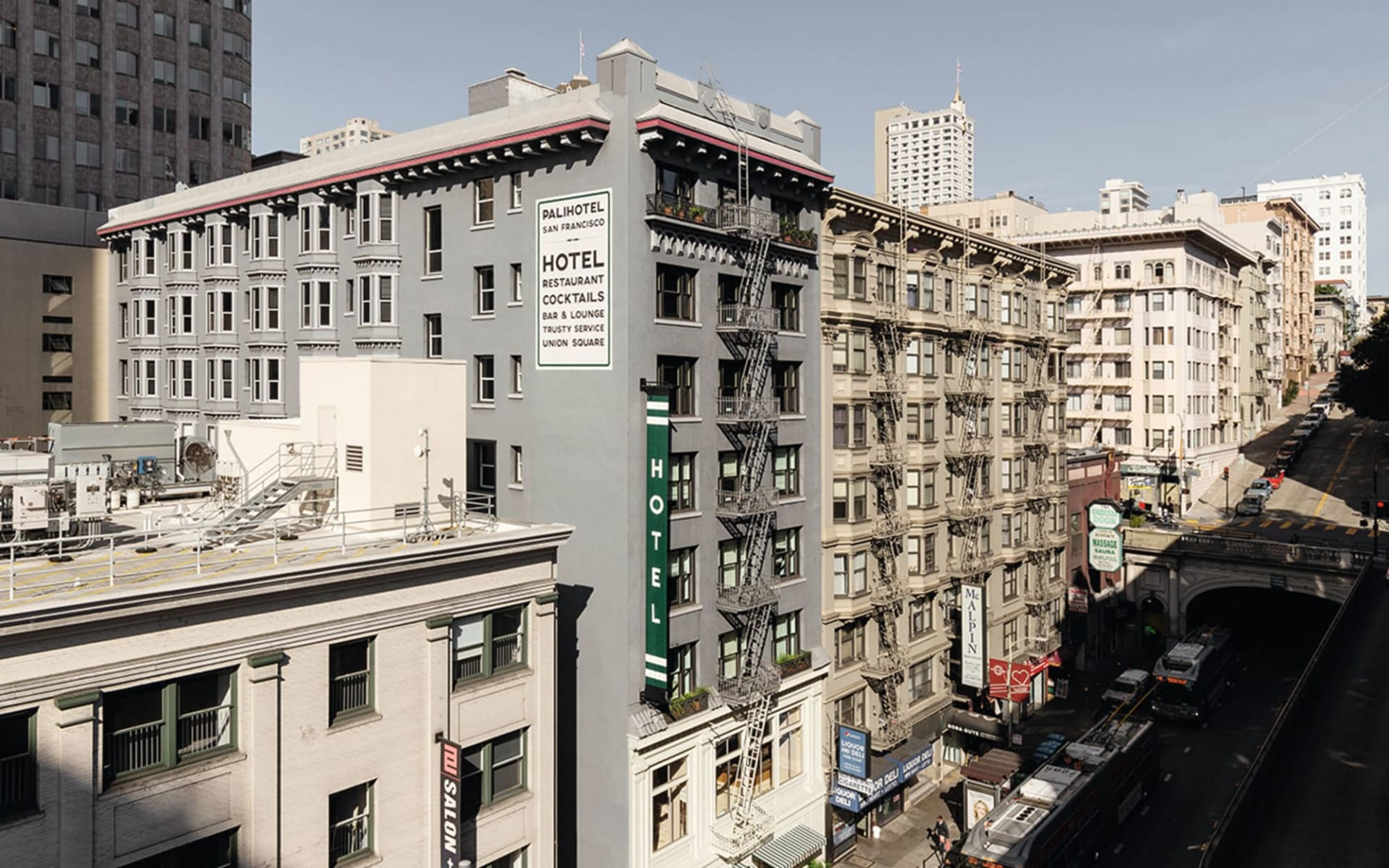 Palihotel (ehemals Mystic Hotel by Charlie Palmer) in San Francisco: Exterior_Palihotel_SFO_Palihotel_web!