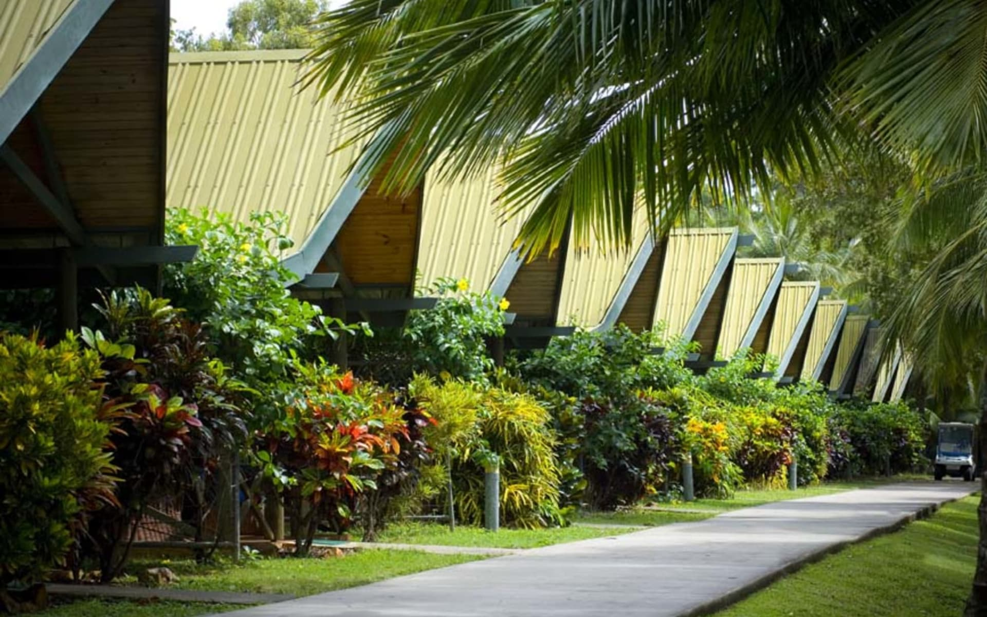 Palm Bungalows in Hamilton Island:  Palm Bungalows Exterior