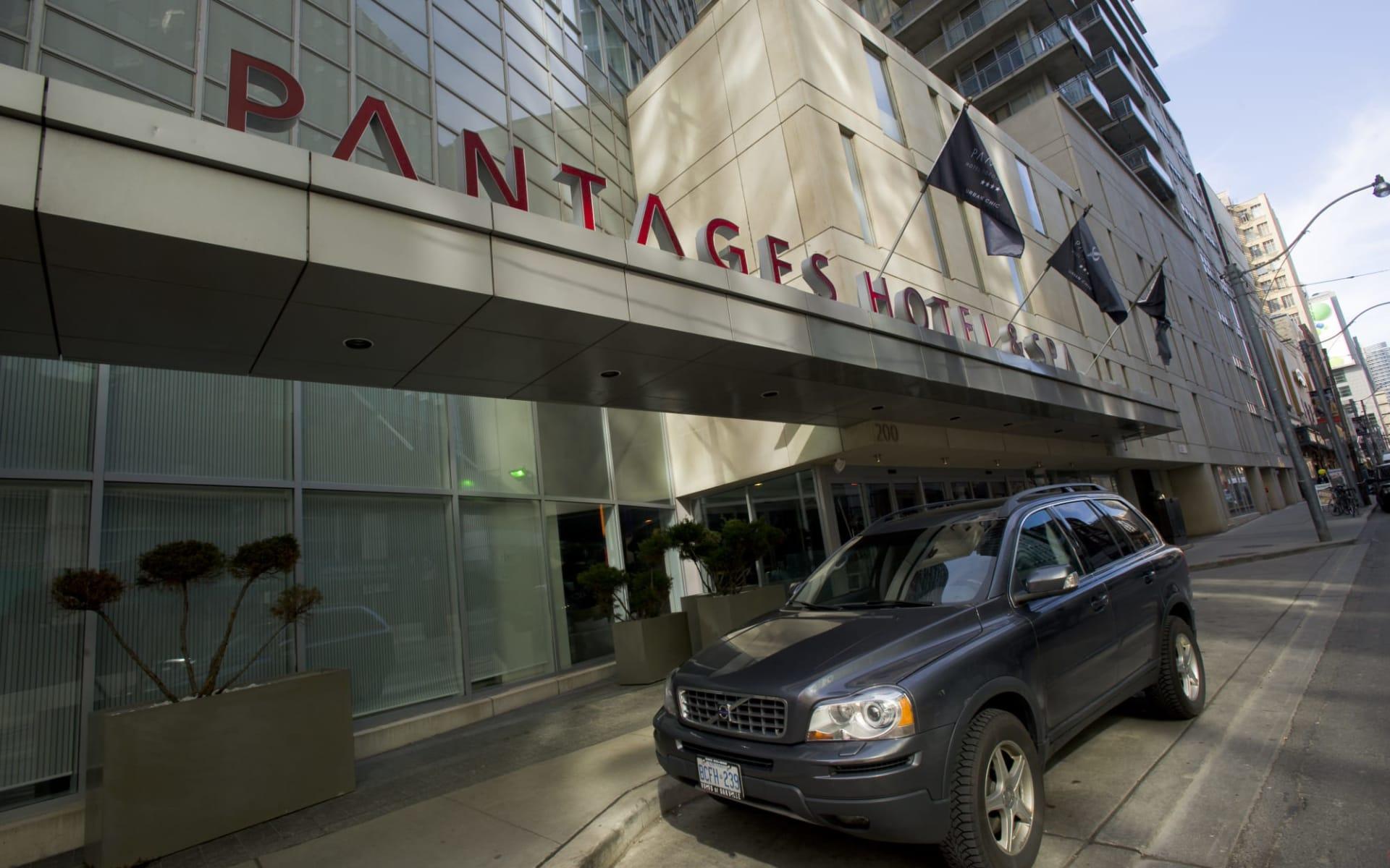 Pantages Hotel & Spa in Toronto:  Pantages Hotel & Spa_EntranceArea