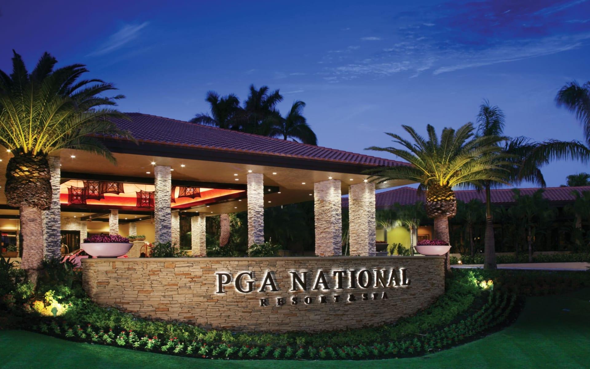 PGA National Resort in Palm Beach: PGA National Resort - Aussenansicht