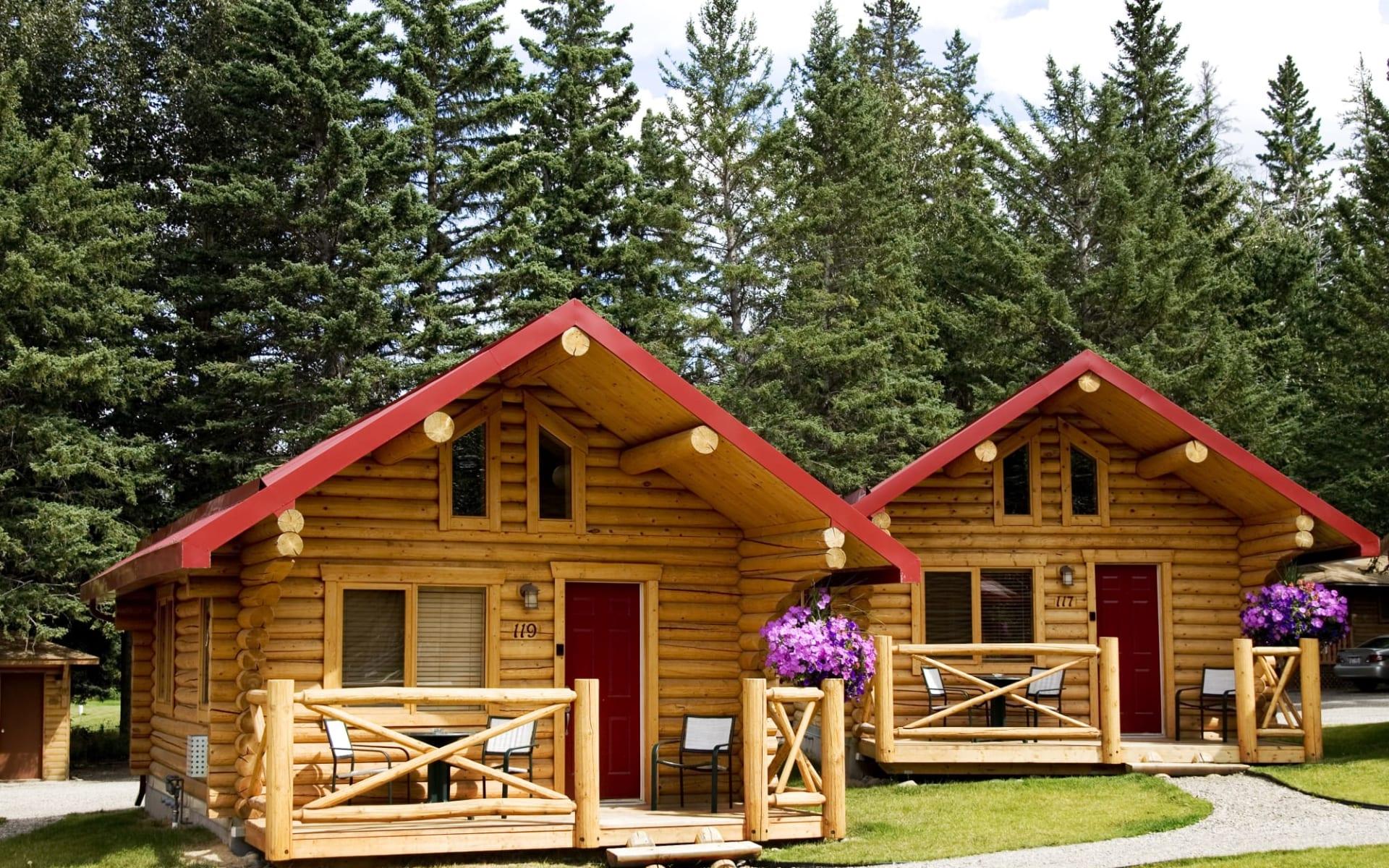 Pocahontas Cabins in Jasper:  PocahontasCabins_DeluxeLogCabin