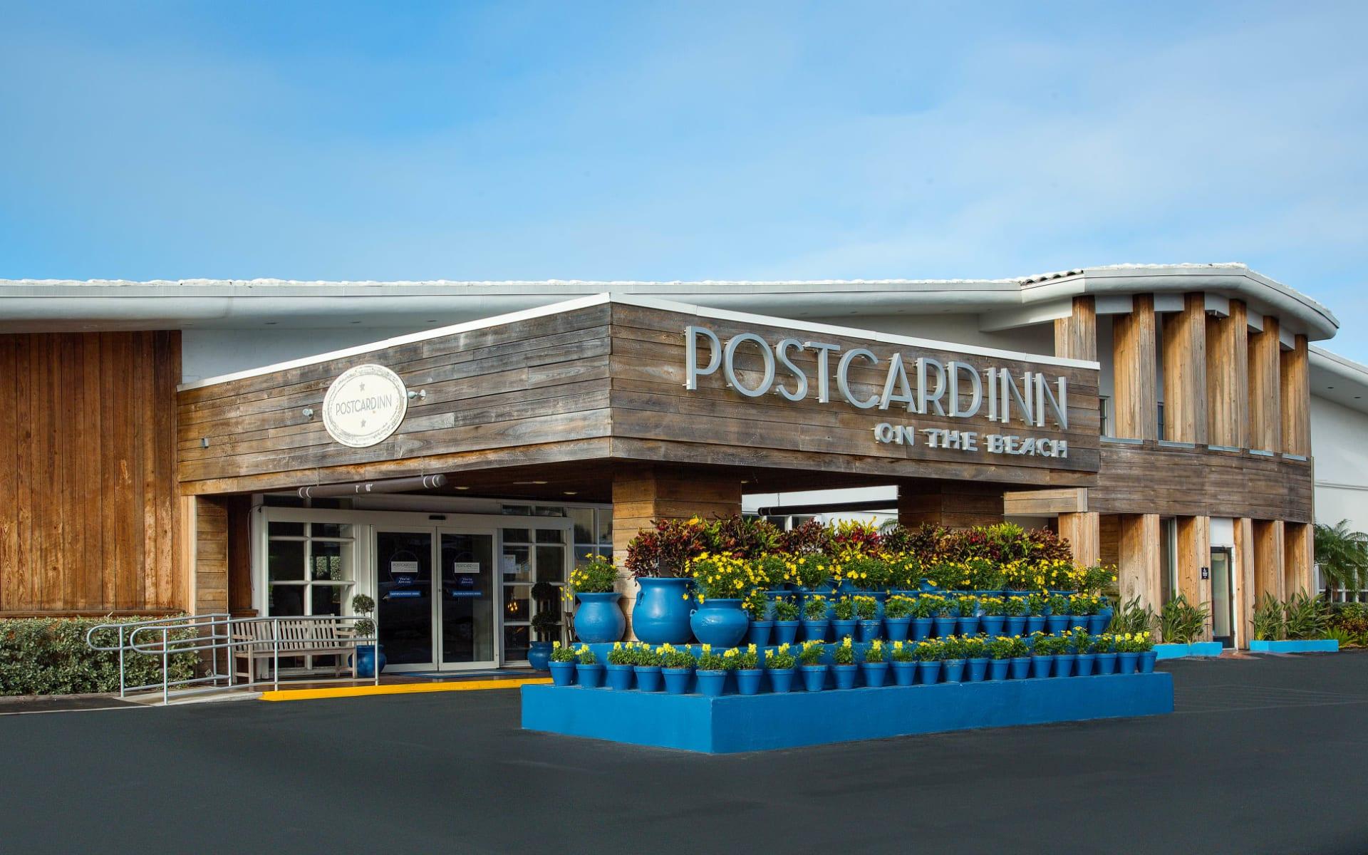 Postcard Inn on the Beach in St. Pete Beach:  Postcard Inn on the Beach_Aussenansicht