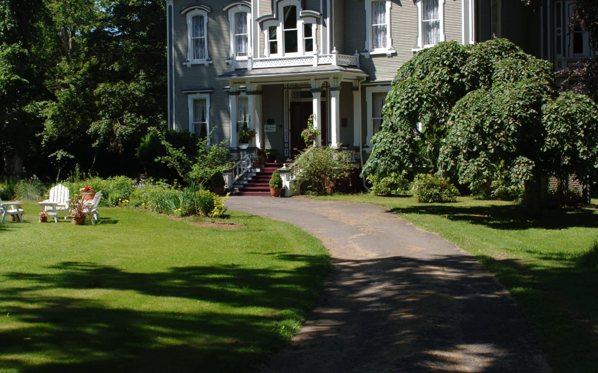 Queen Anne Inn in Annapolis Royal: Aussenansicht