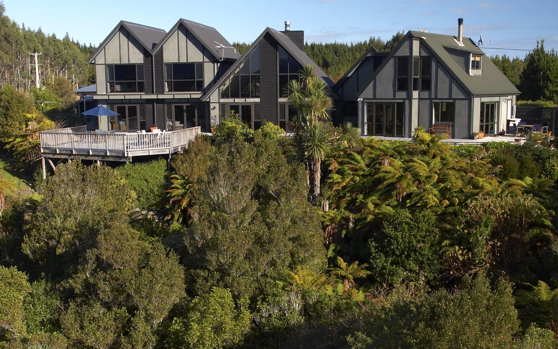 Rimu Lodge in Hokitika: exterior rimu lodge - Haus von aussen cRimu Lodge