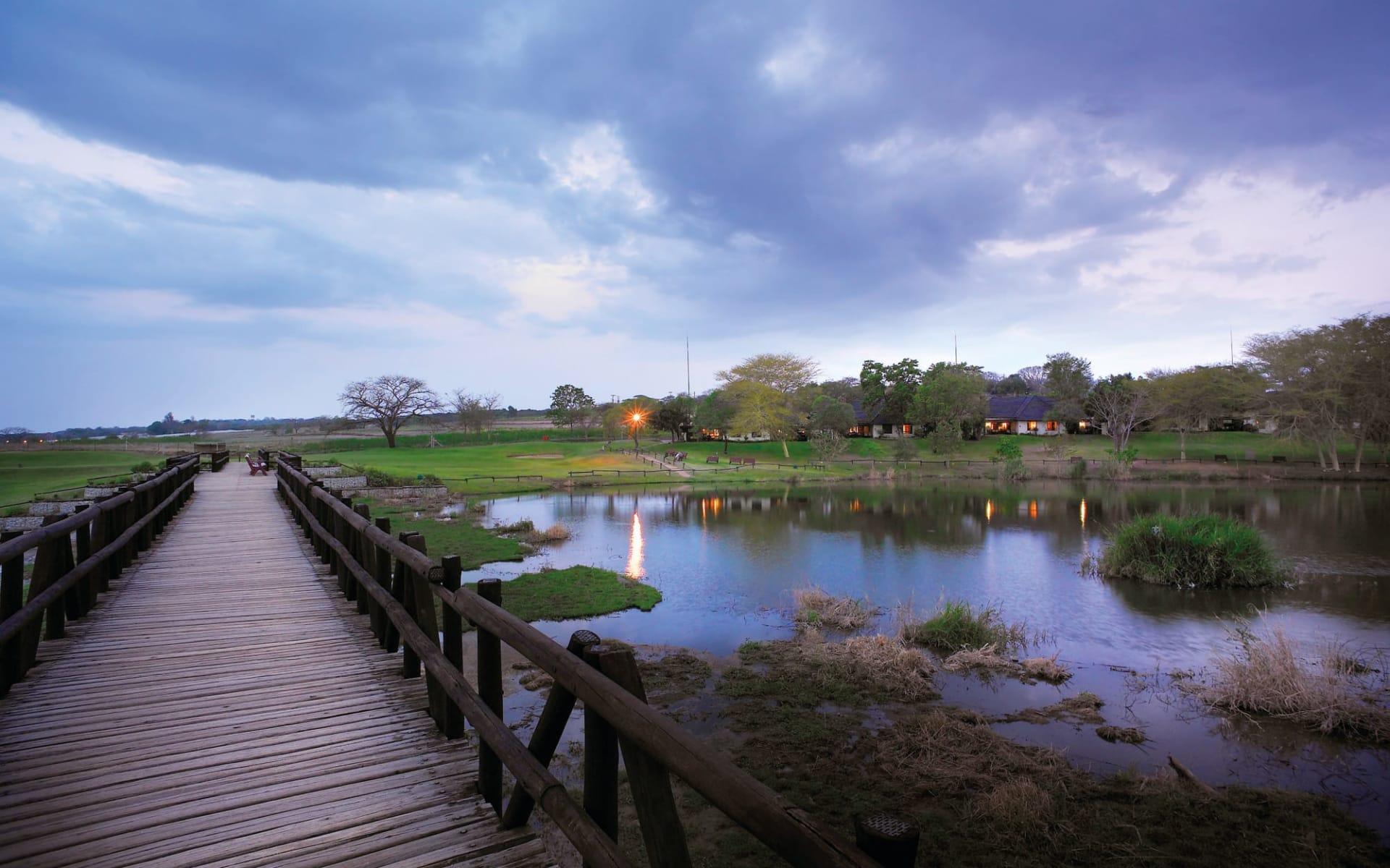 Sabi River Sun Resort in Hazyview: Sabi River Sun Resort - Blick auf Hotelanlage