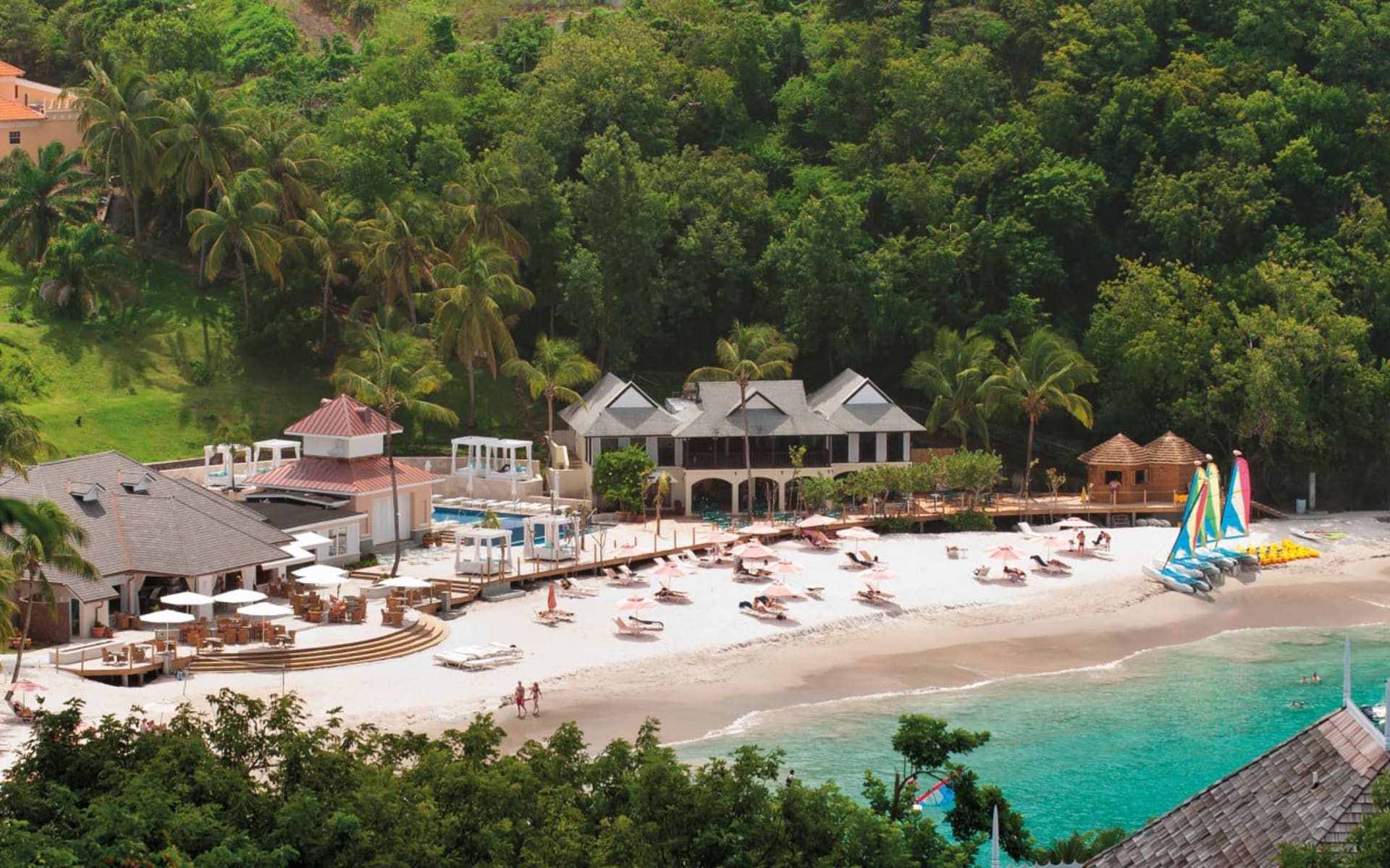 The Body Holiday Resort St. Lucia in Cariblue Beach:  Saint Lucia_ The Body Holiday_Beach