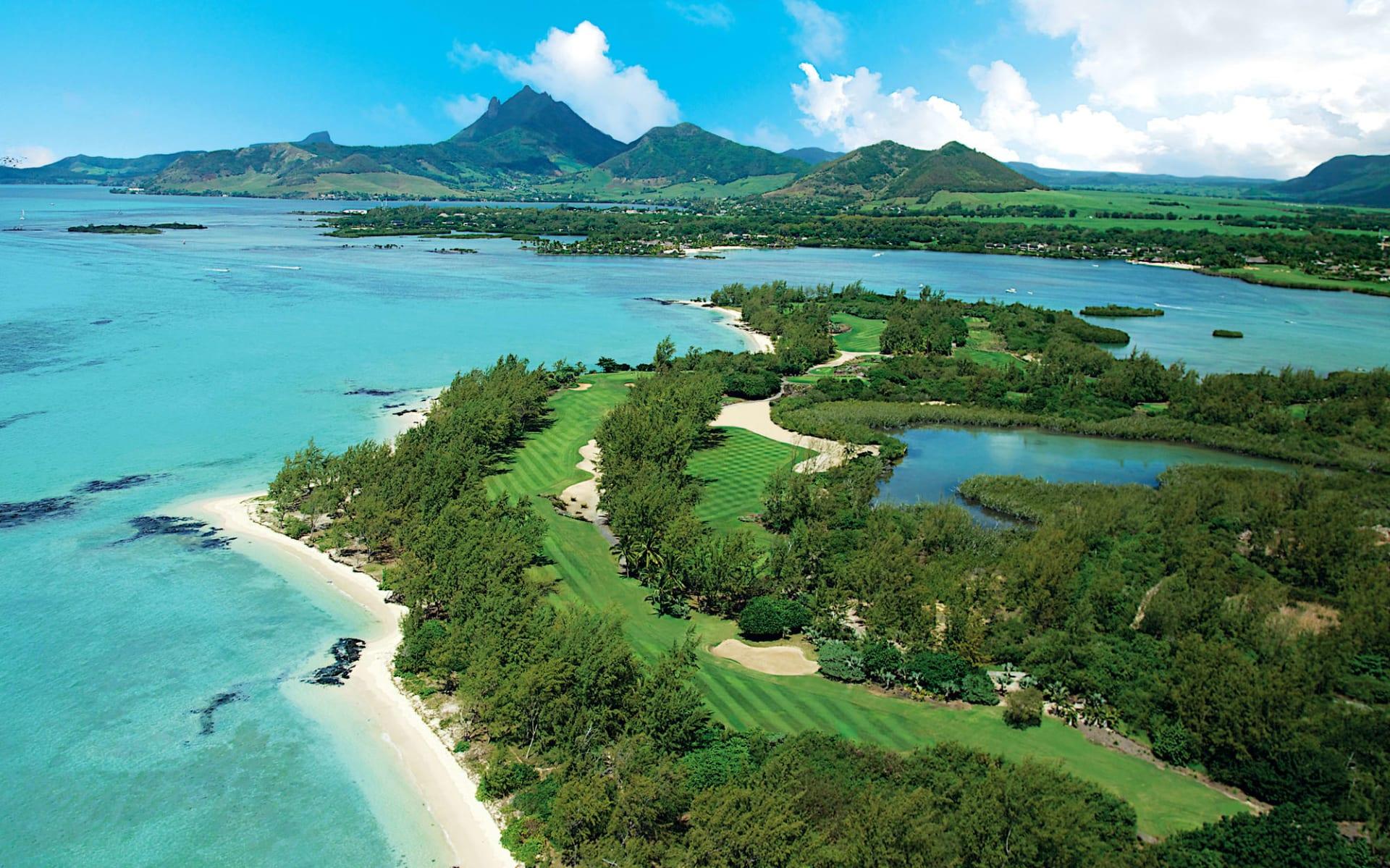 Shangri La's le Touessrok Resort & Spa in Trou d'Eau Douce:  Shangri La's le Tousessrok Resort & Spa - Ile aux Cerfs Golf Club