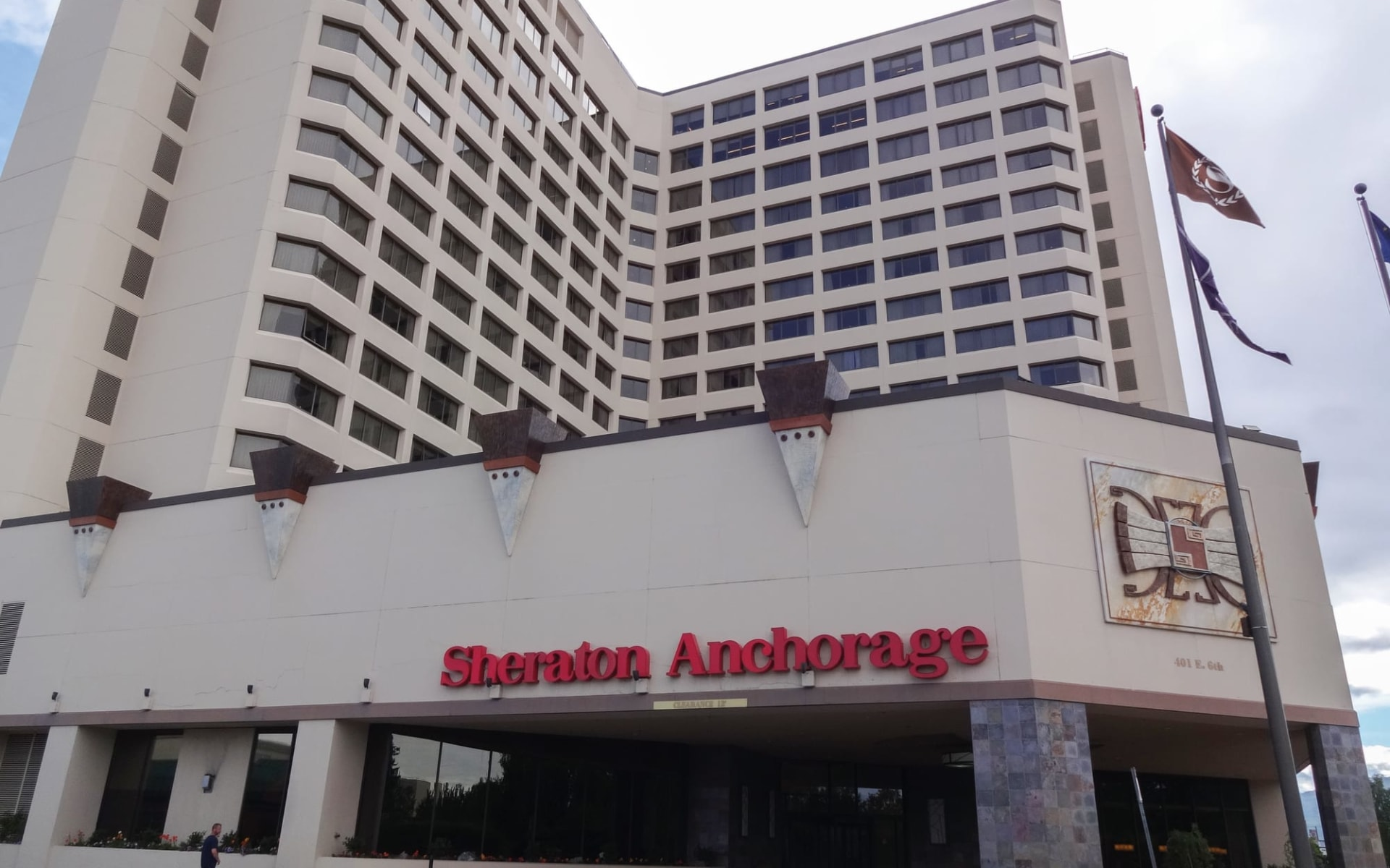 Sheraton Anchorage: Sheraton Anchorage_Frontansicht_GoNorth