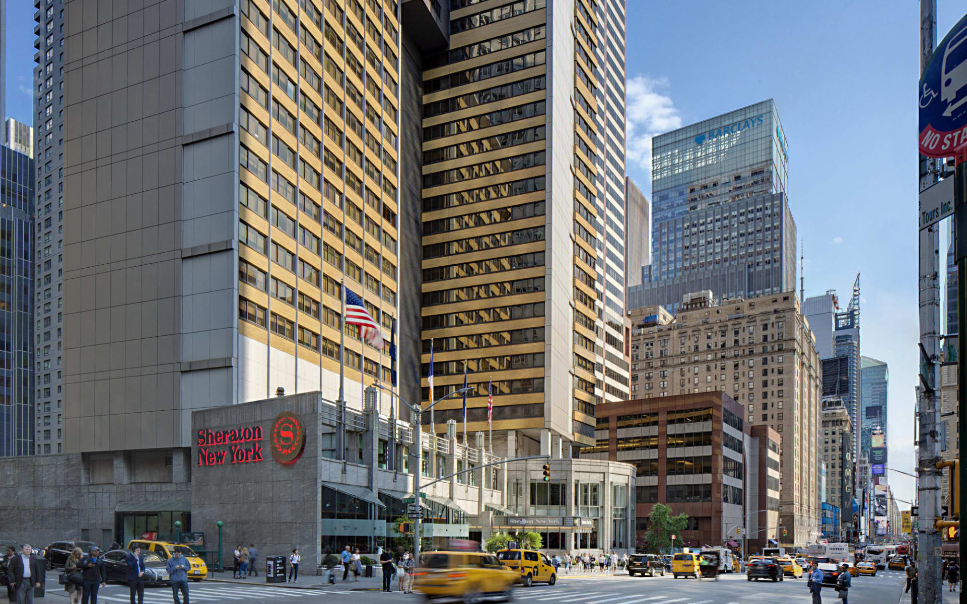 Sheraton Manhattan at Times Square in New York - Manhattan: Sheraton Times Square - Aussenansicht