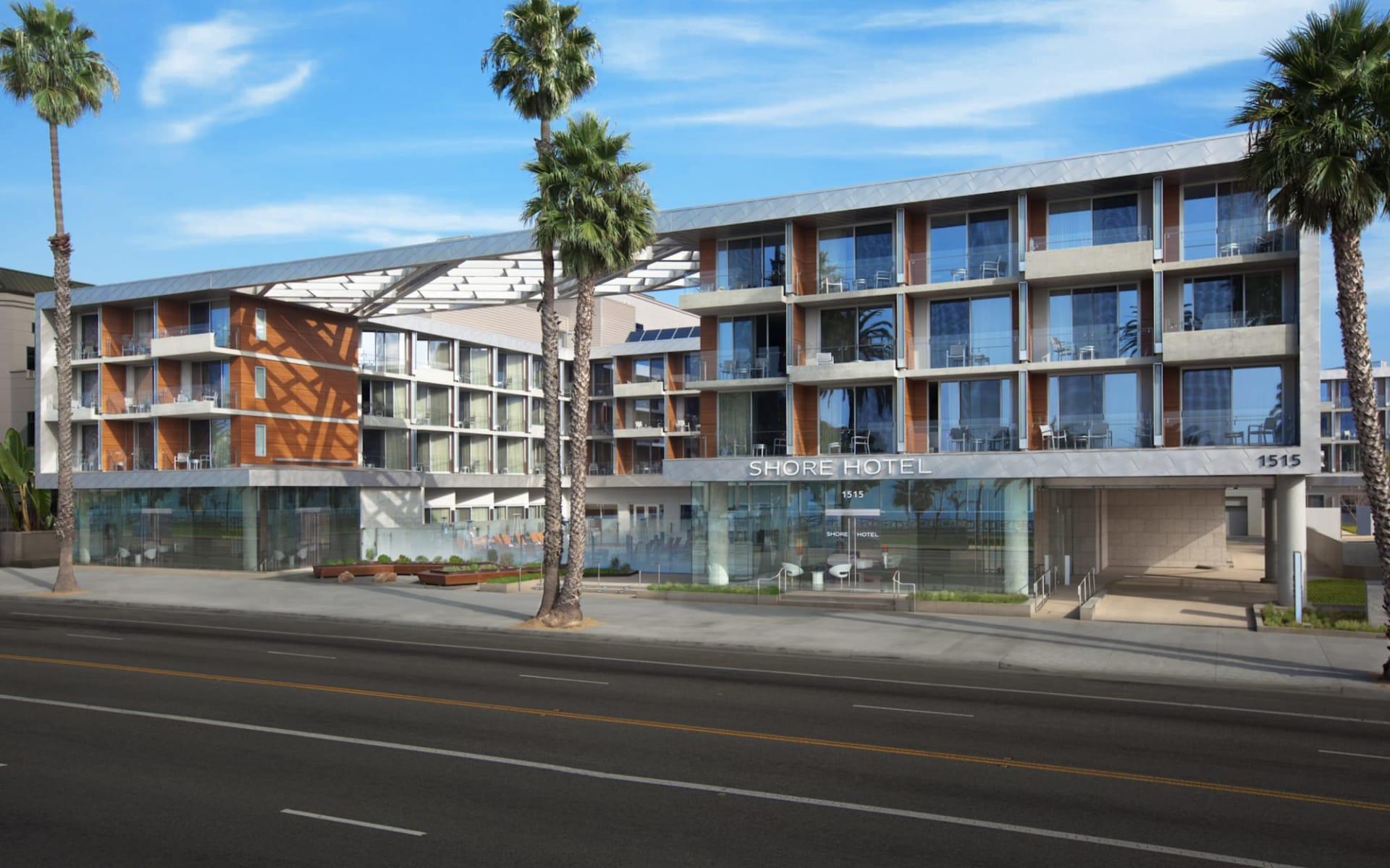 Shore Hotel in Santa Monica:  Shore Hotel - Aussenansicht