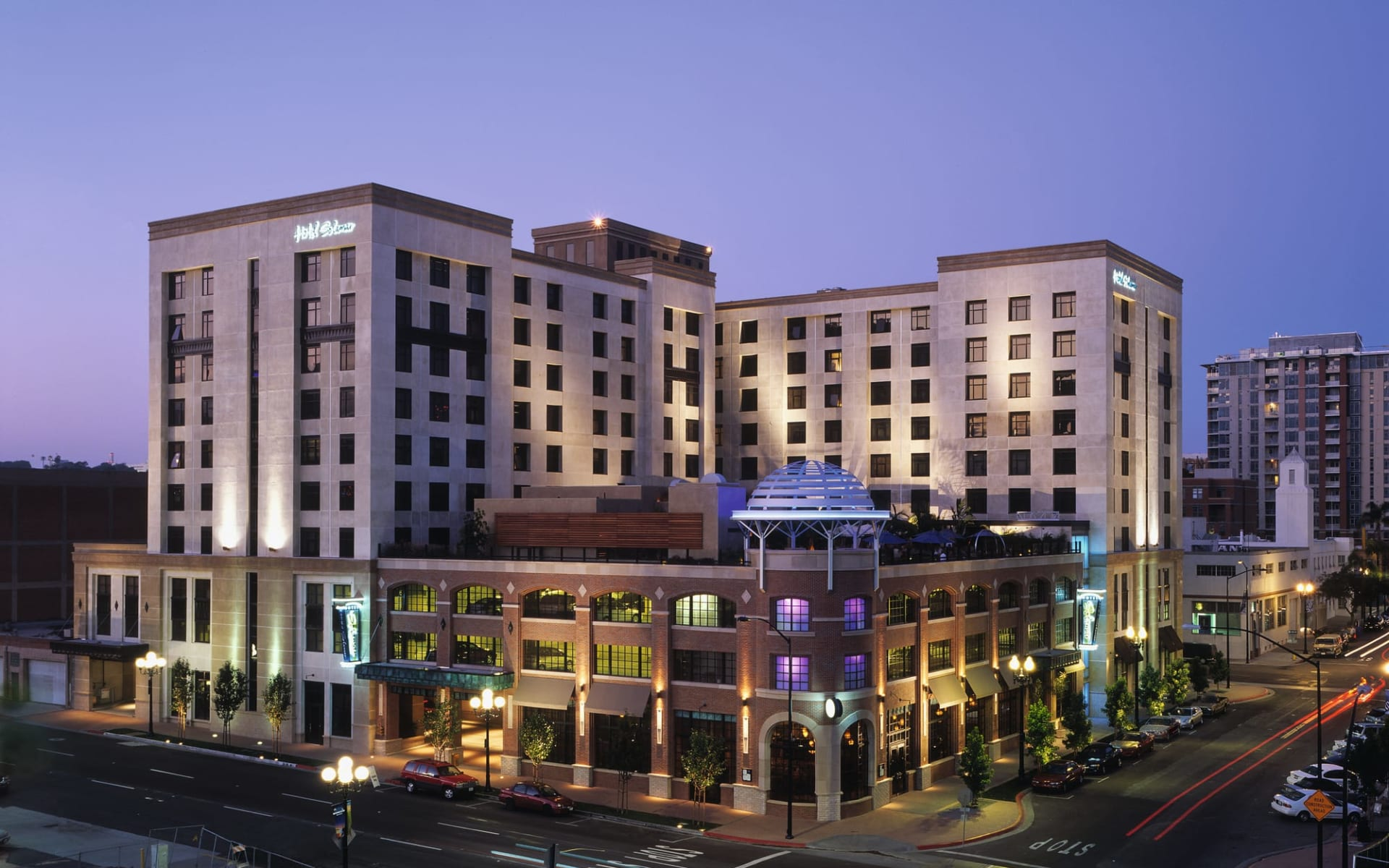 Solamar Hotel in San Diego:  Solamar SAN_Aussenansicht