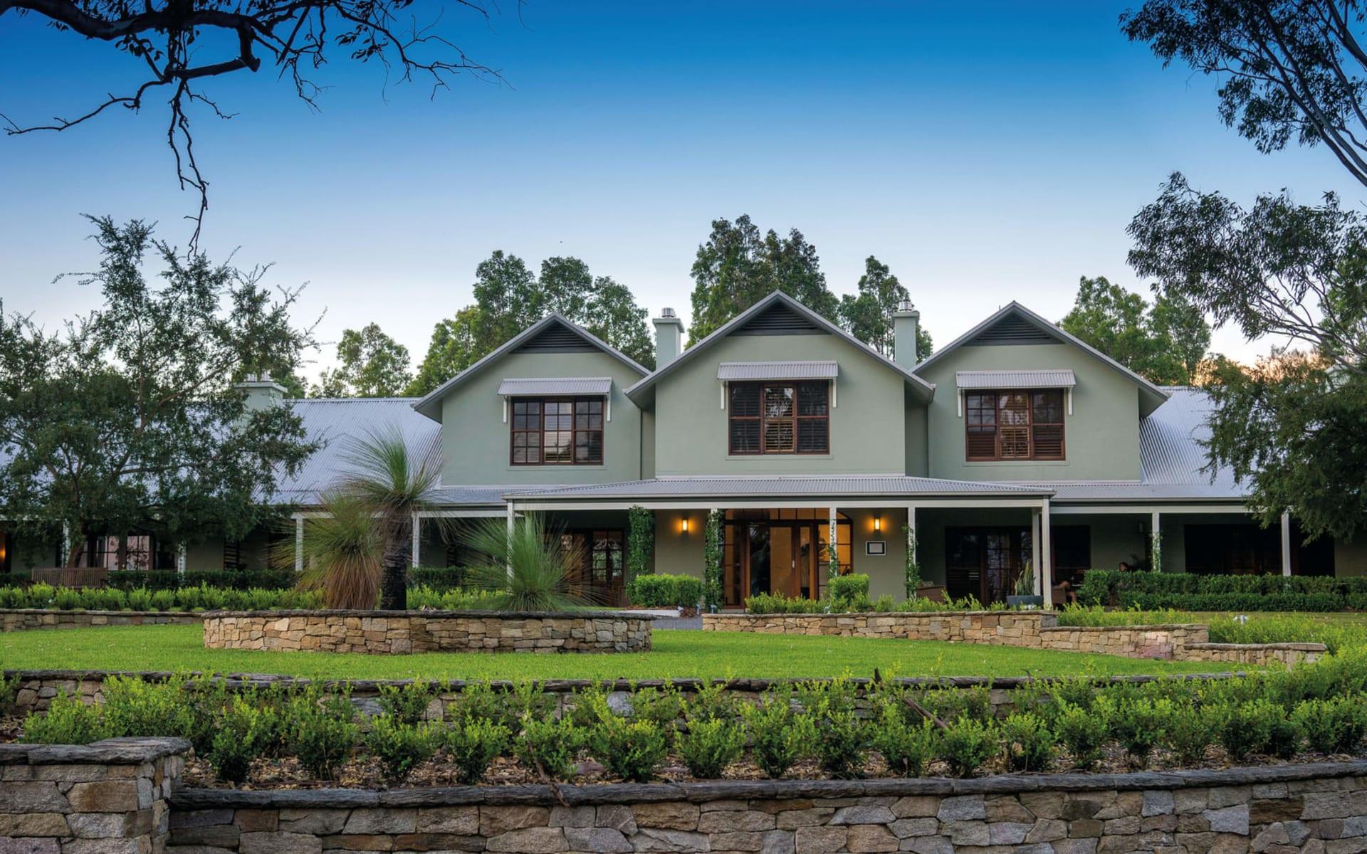 Spicers Vineyards Estate in Pokolbin - Hunter Valley:  Spicers Vineyard Estate - Aussenansicht