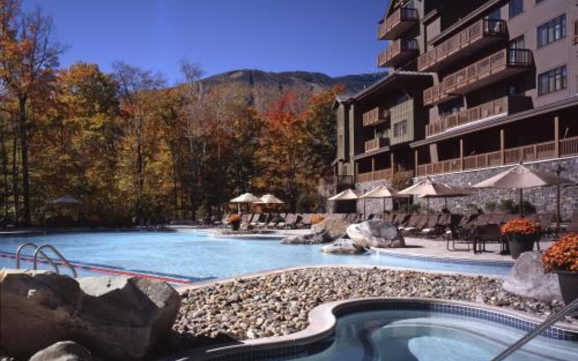 The Lodge at Spruce Peak in Stowe: exterior_stowe_mountain_lodge_pool