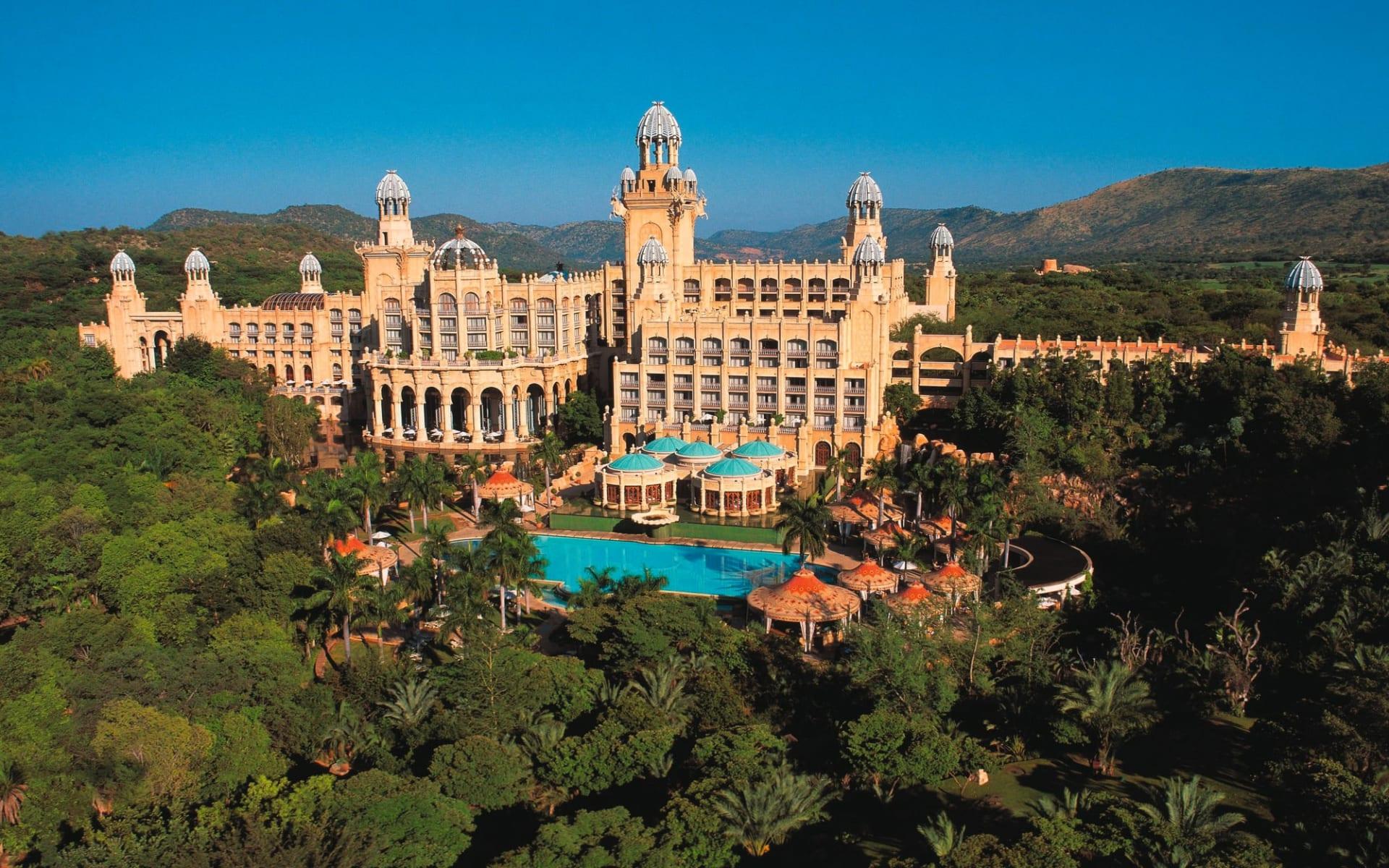 Sun City The Palace of the Lost City: Sun City Resort - Aussenansicht Hotelanlage