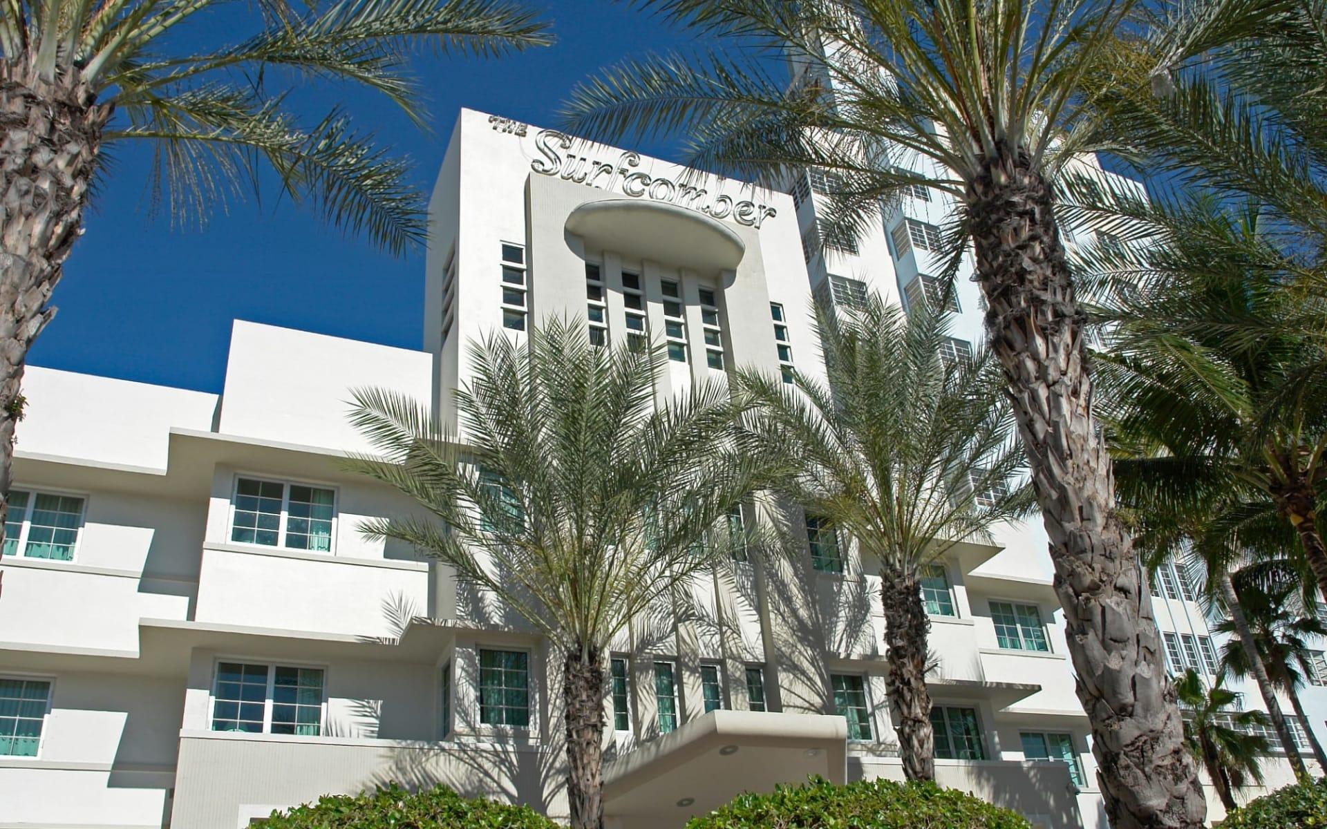 Kimpton Surfcomber Hotel in Miami Beach:  Surfcomber MIA - Aussenansicht