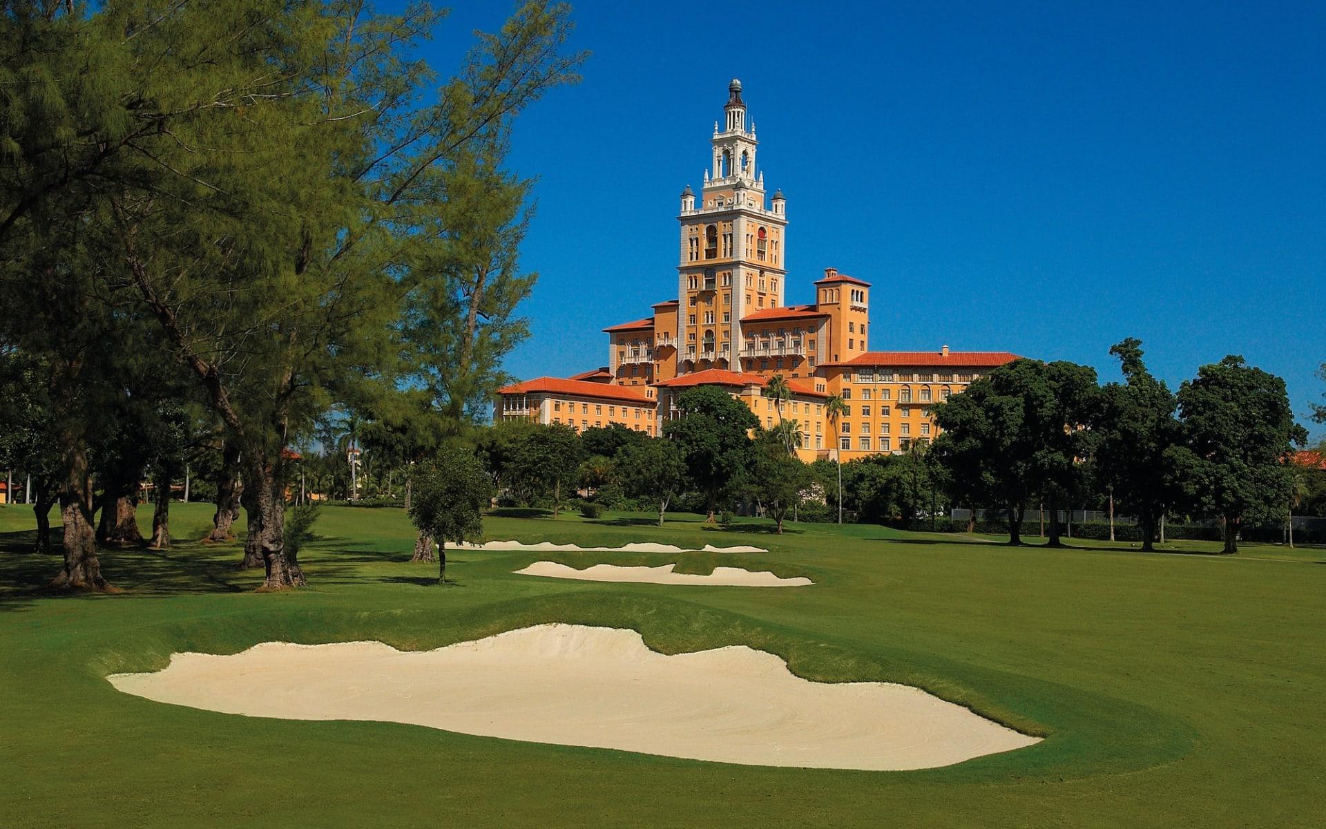 The Biltmore in Miami:  The Biltmore - Blick auf Hotel