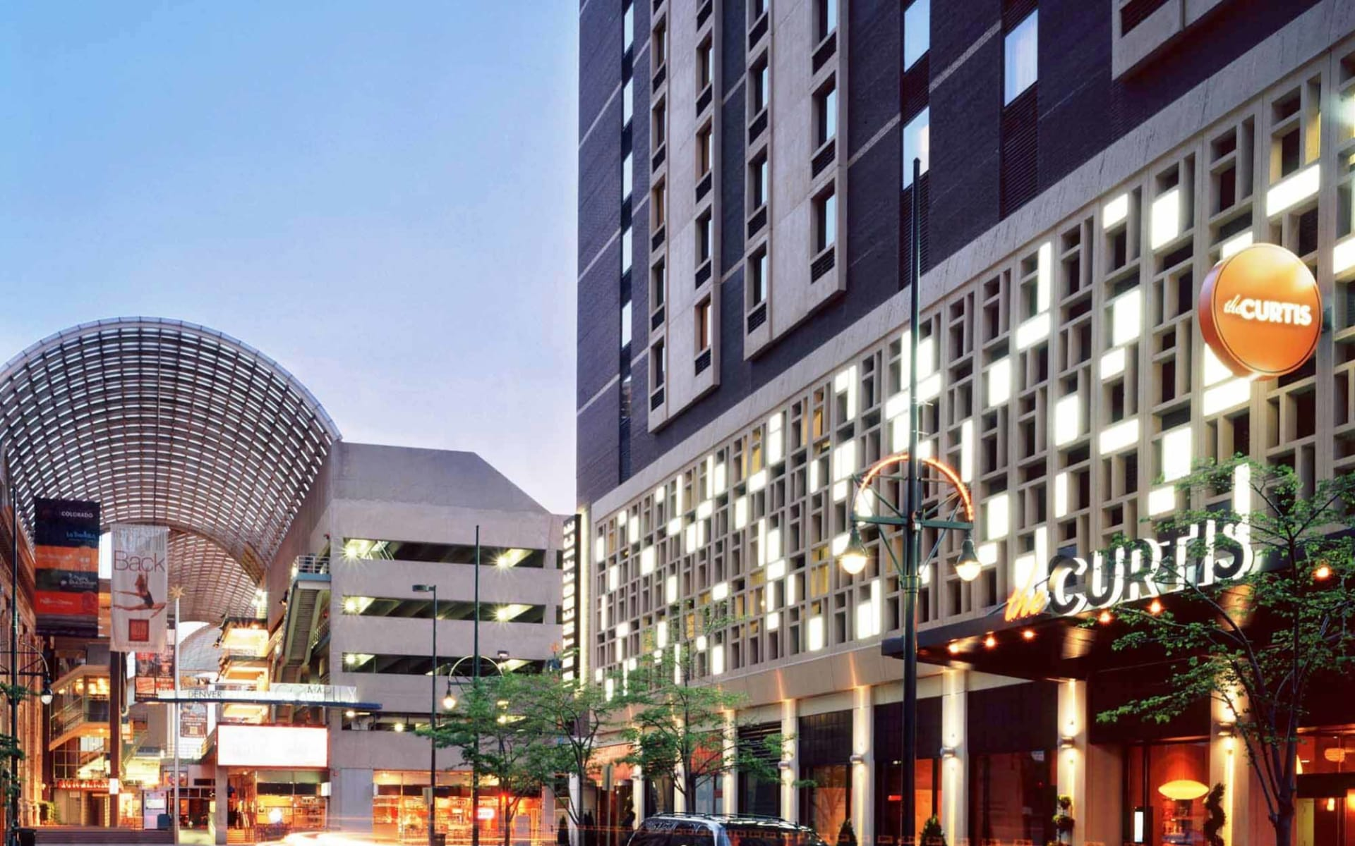 The Curtis Denver A DoubleTree by Hilton Hotel:  The Curtis - Fasade