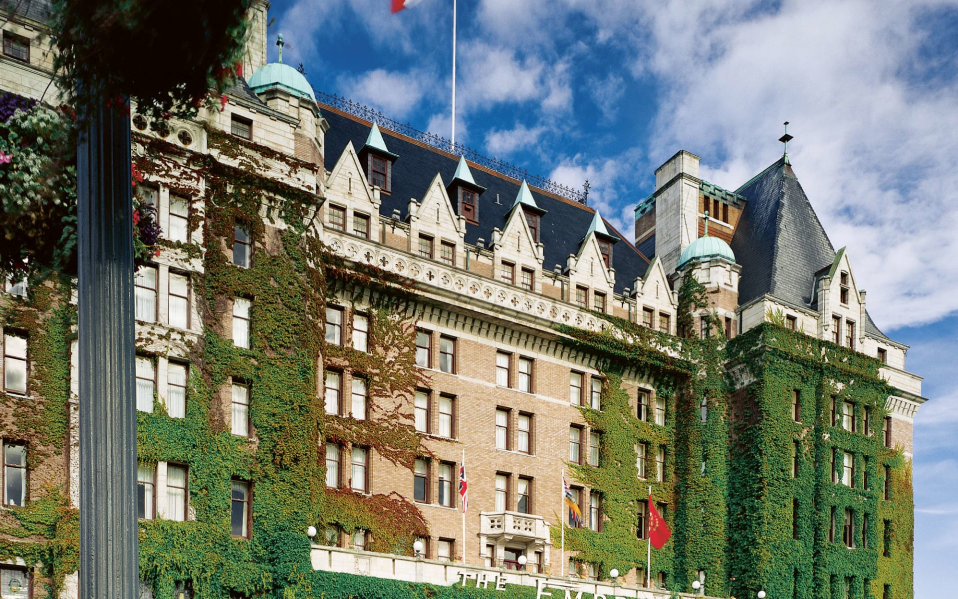 The Fairmont Empress in Victoria: The Fairmont Empress_ViewFromGarden