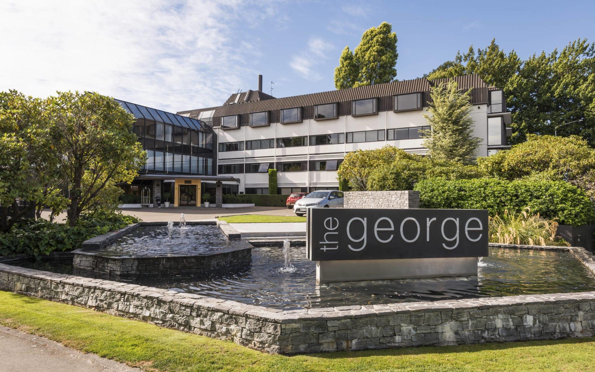 The George Hotel in Christchurch:  the George Hotel Christchurch