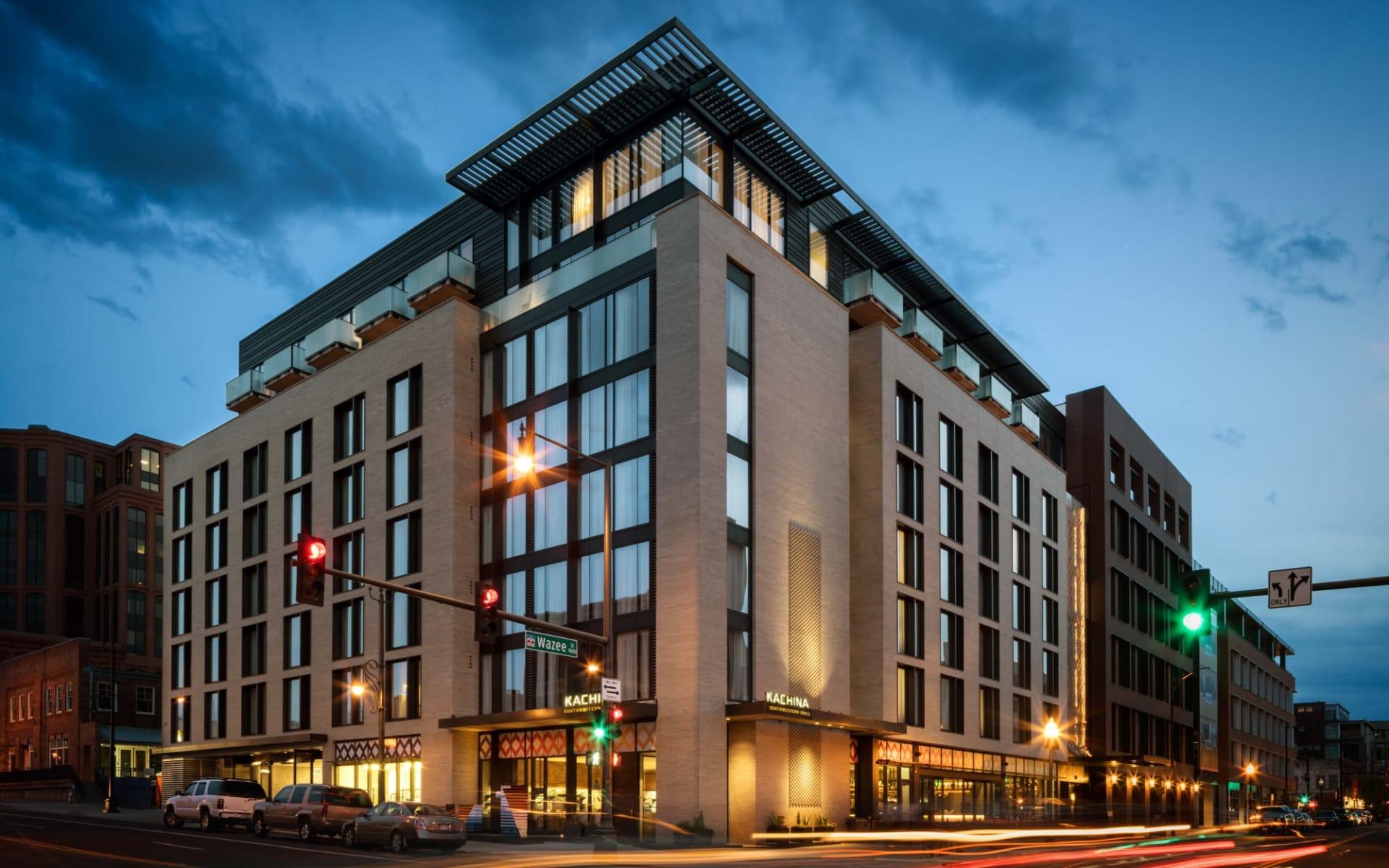 The Maven Hotel at Dairy Block in Denver:  The Maven - Aussenansicht
