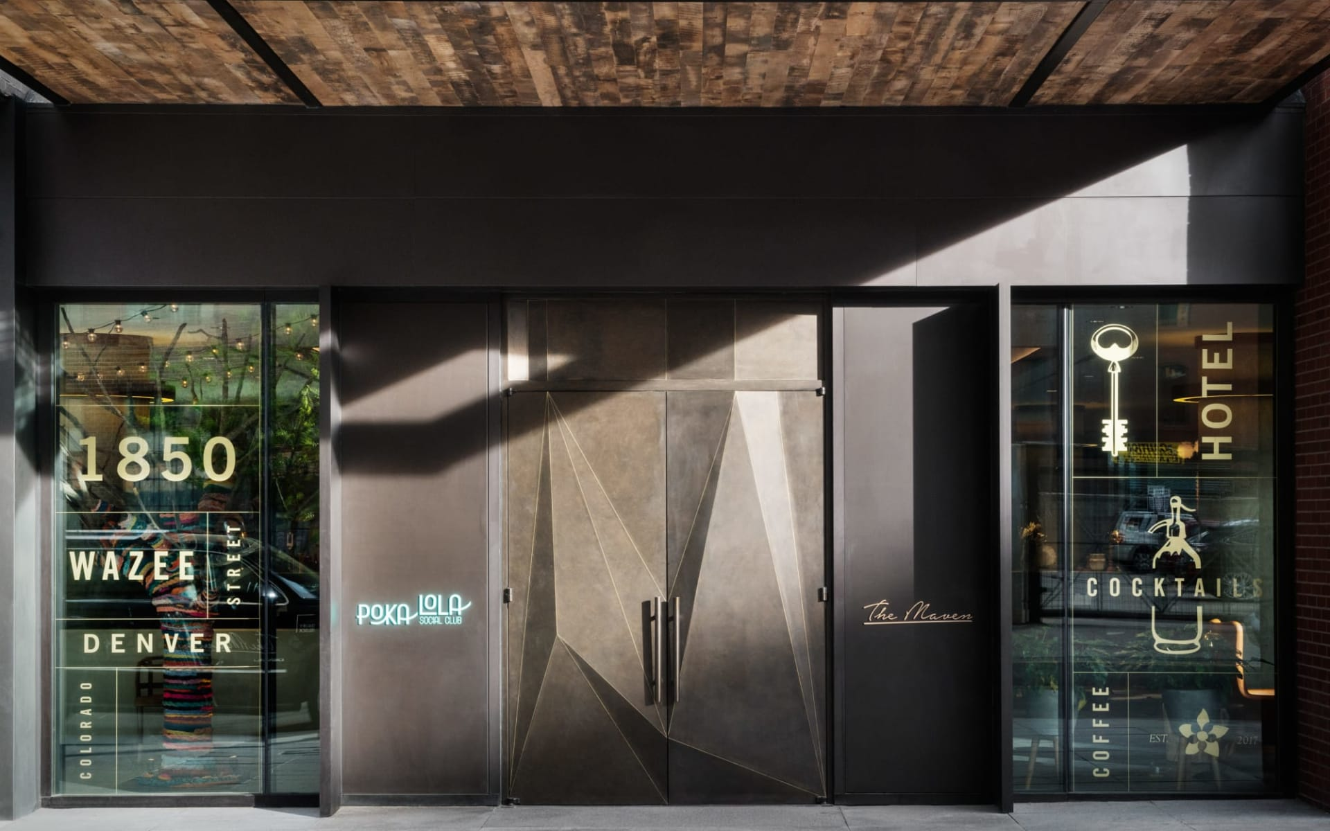 The Maven Hotel at Dairy Block in Denver:  The Maven - Entry Doors_5020