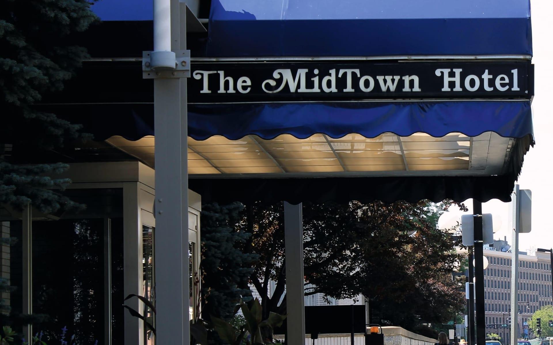 The Midtown Hotel in Boston:  The Midtown Hotel - Aussenansicht