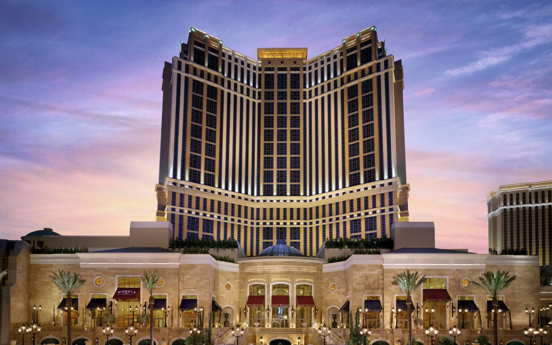 The Palazzo Resort Hotel & Casino in Las Vegas:  The Palazzo - Ansicht