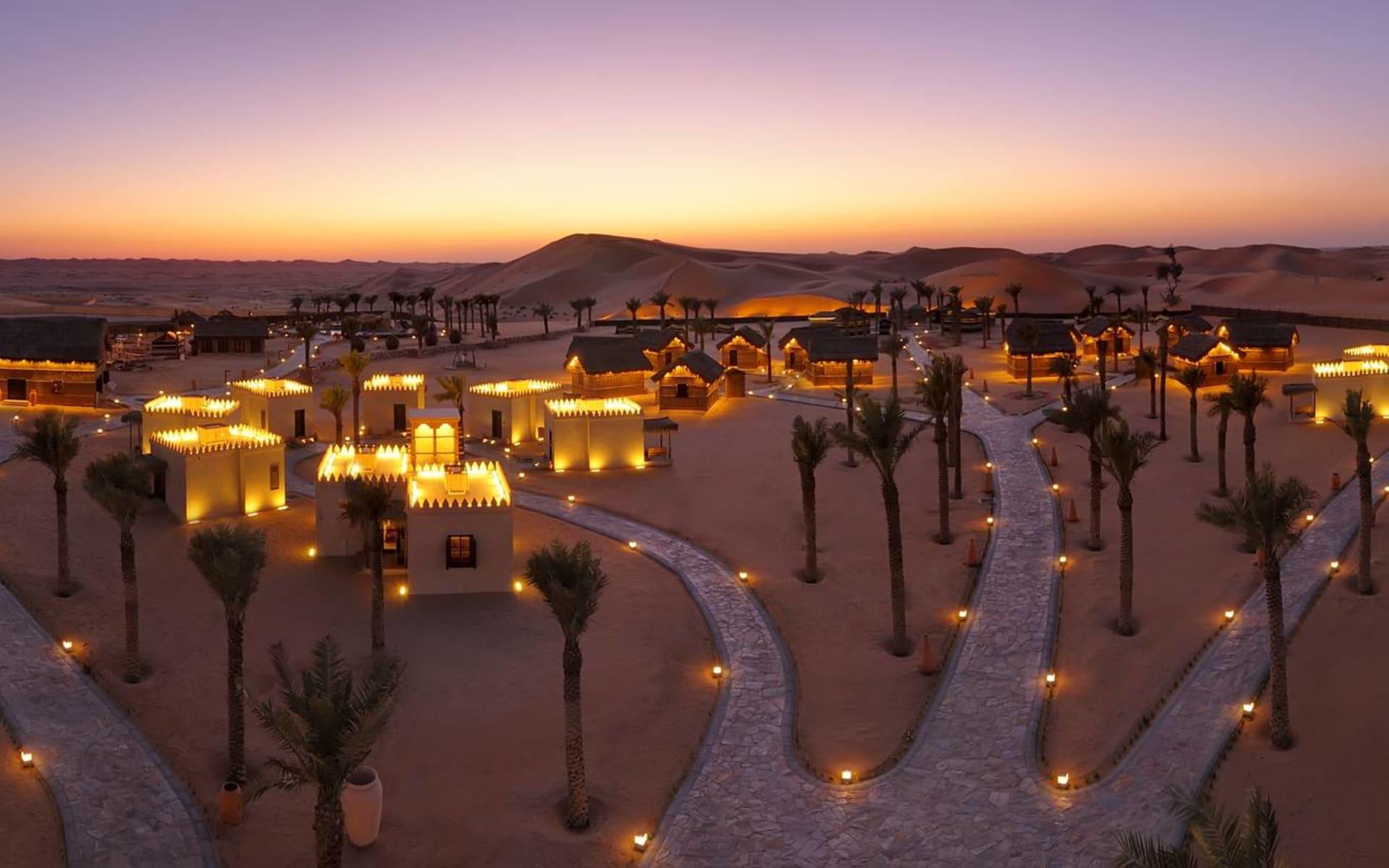 Arabian Nights Village in Al Khatim Wüste: The Village