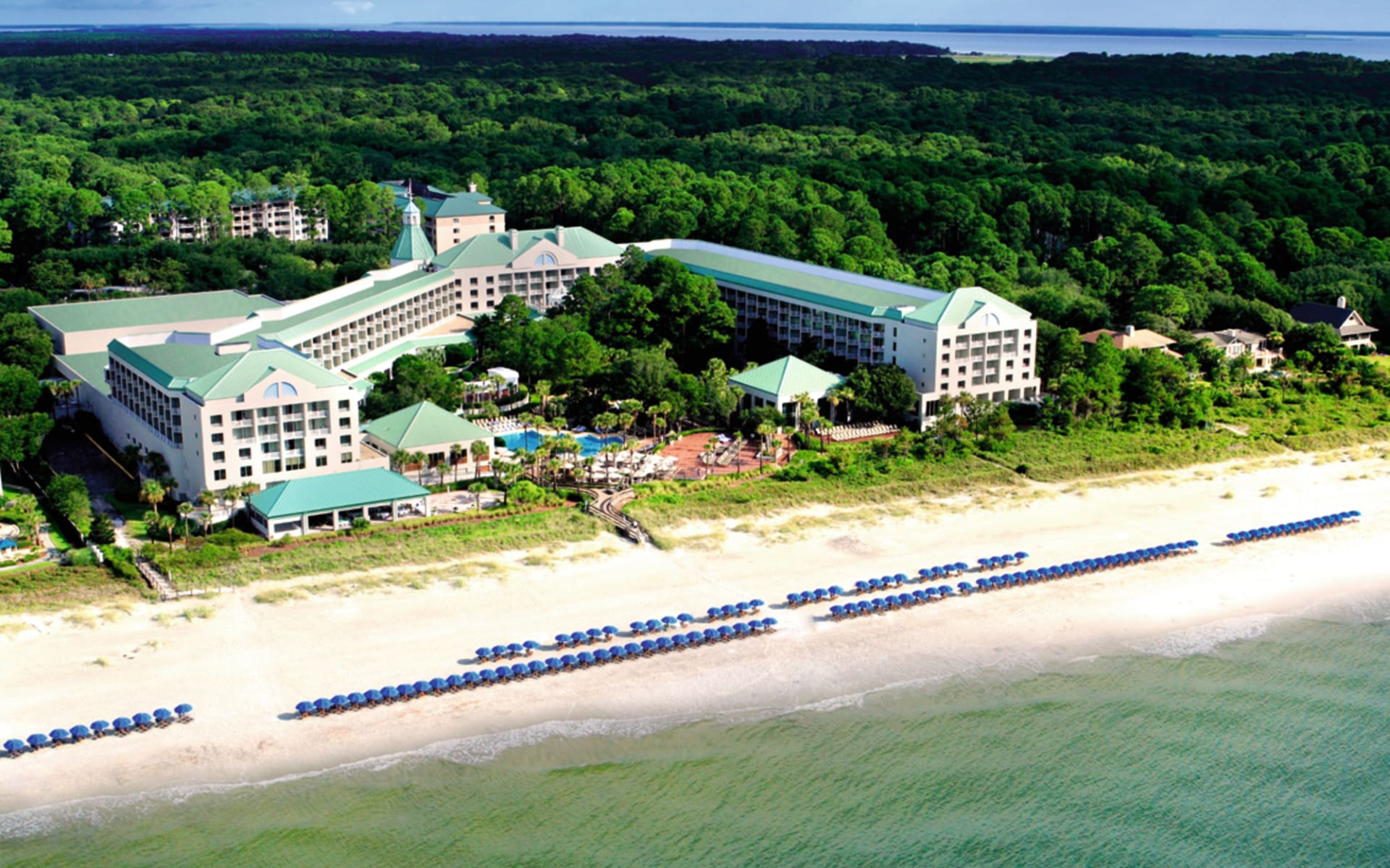 The Westin Resort in Hilton Head Island: exterior the westin resort hotelansicht strand meer