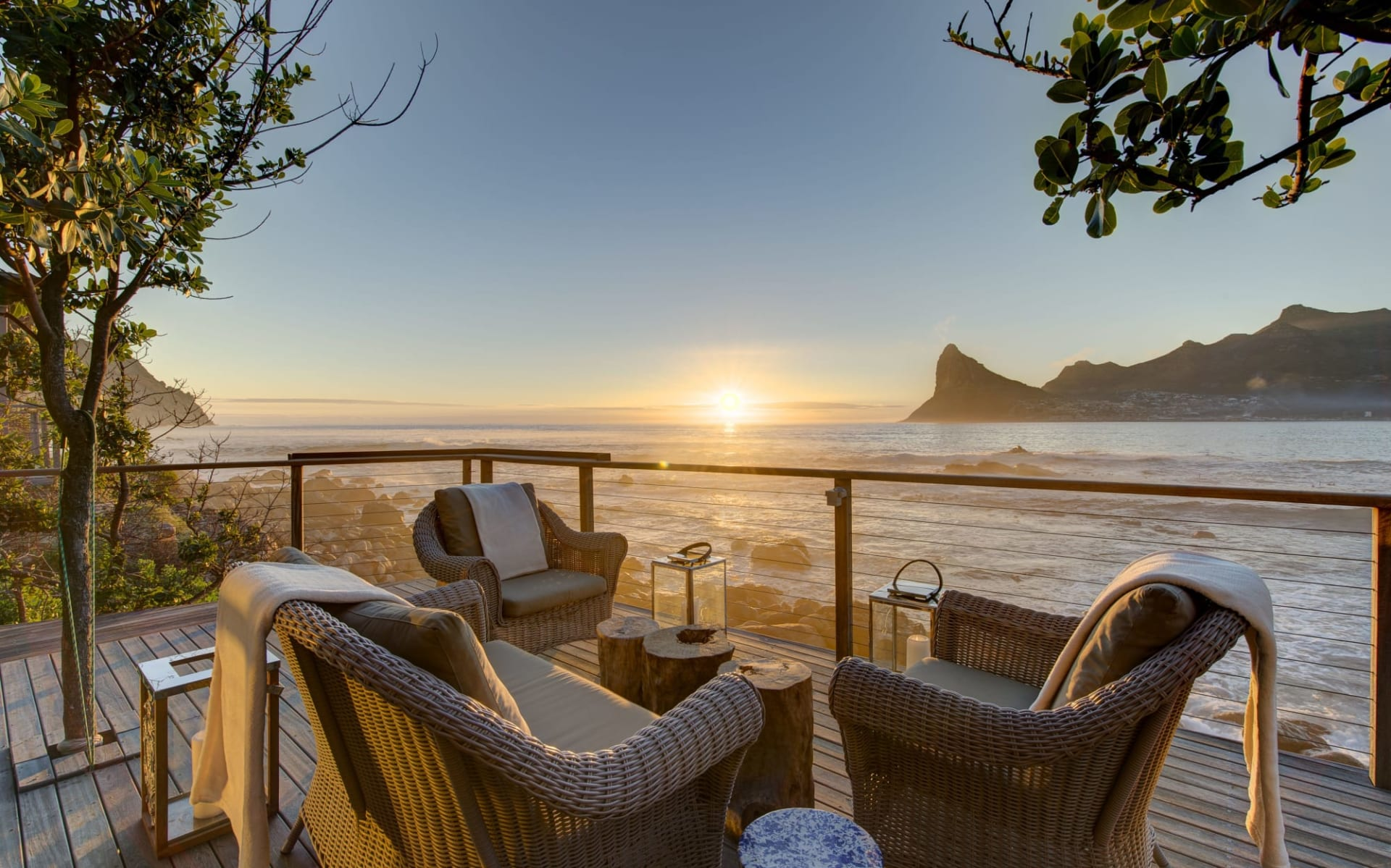 Tintswalo Atlantic Boutique Hotel in Hout Bay: Tintswalo Atlantic Main Deck