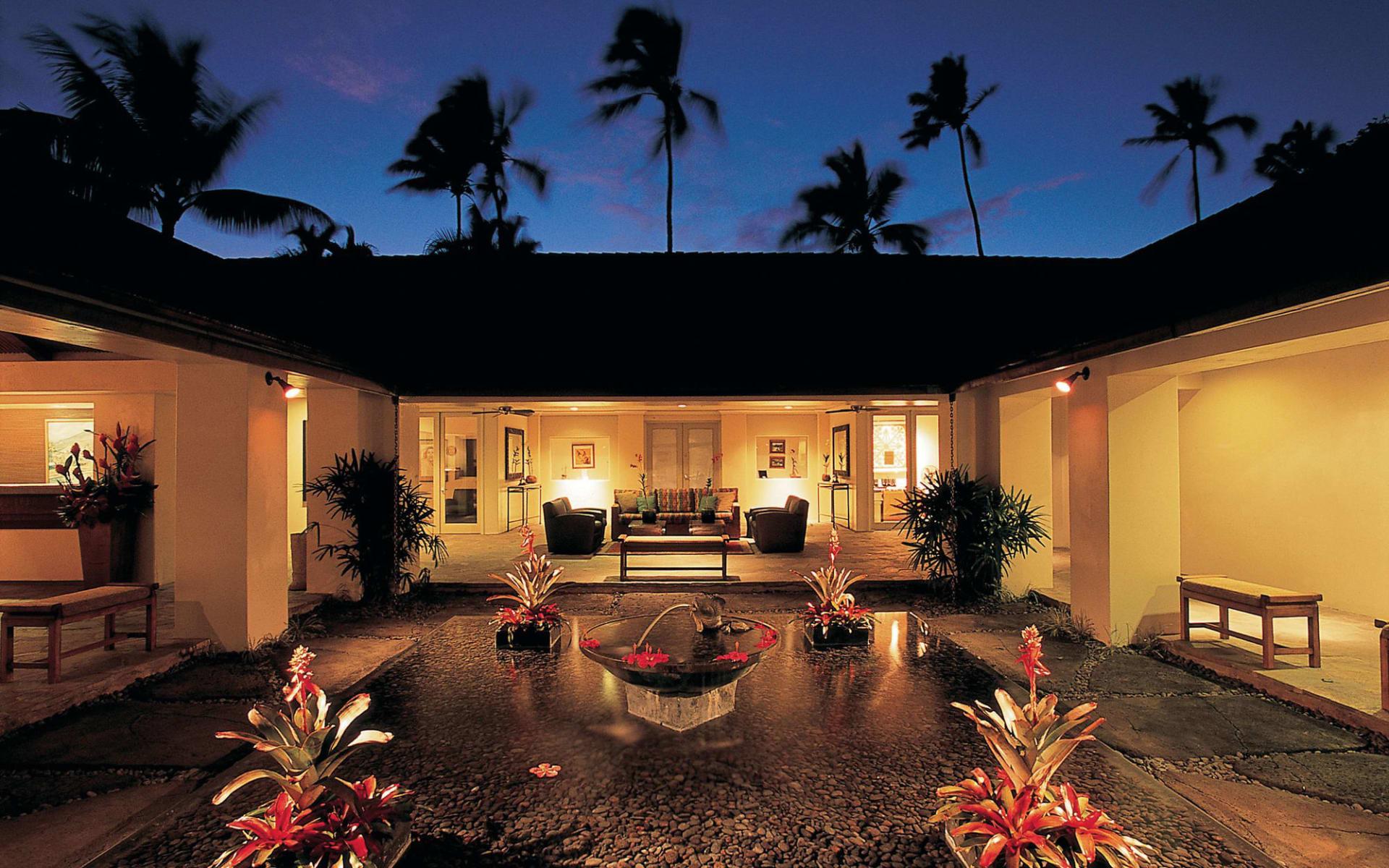 Hana Maui Resort in Hana - Maui: Travaasa Hana - Innenhof