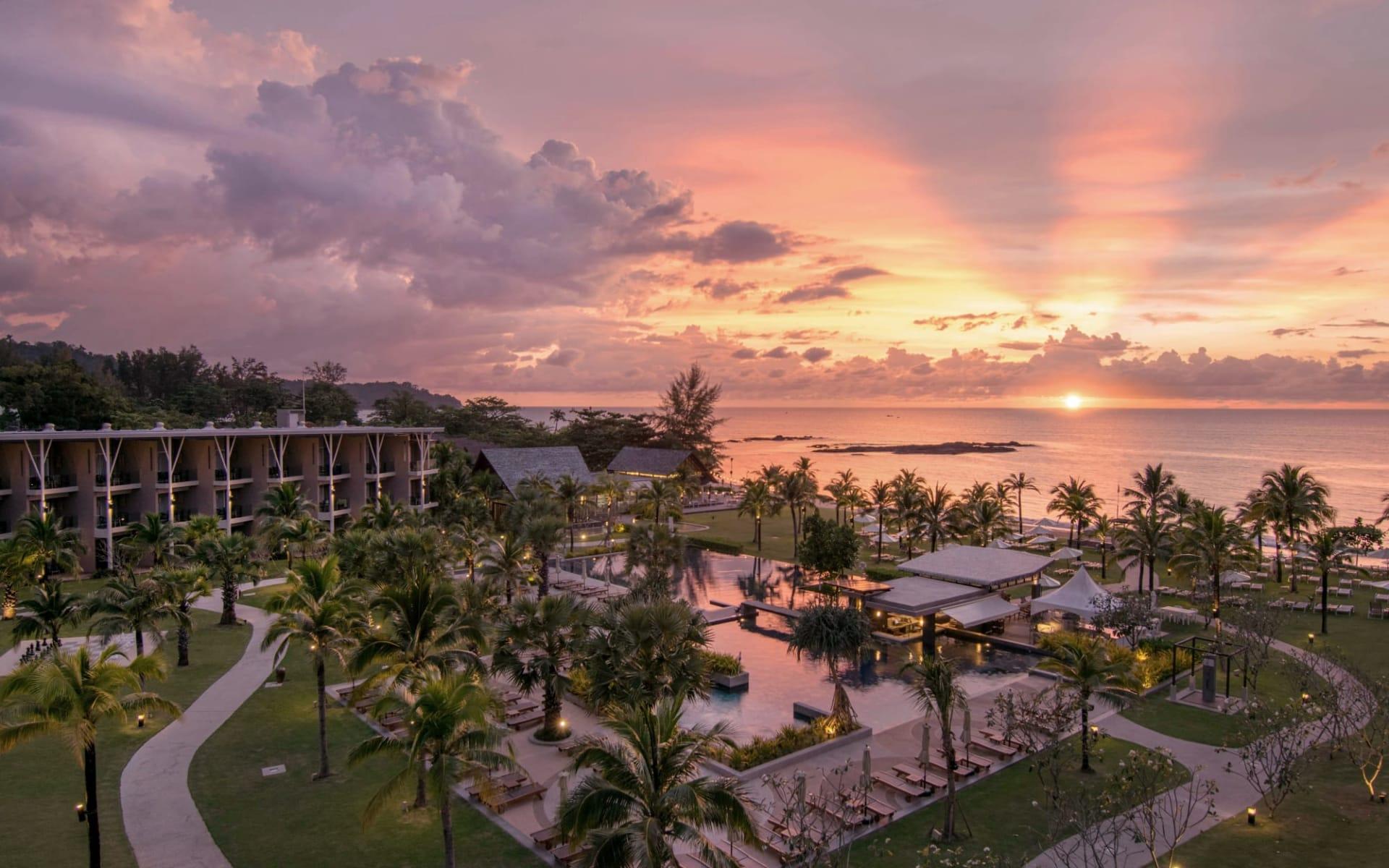 The Sands Khao Lak by Katathani: View at Sunset